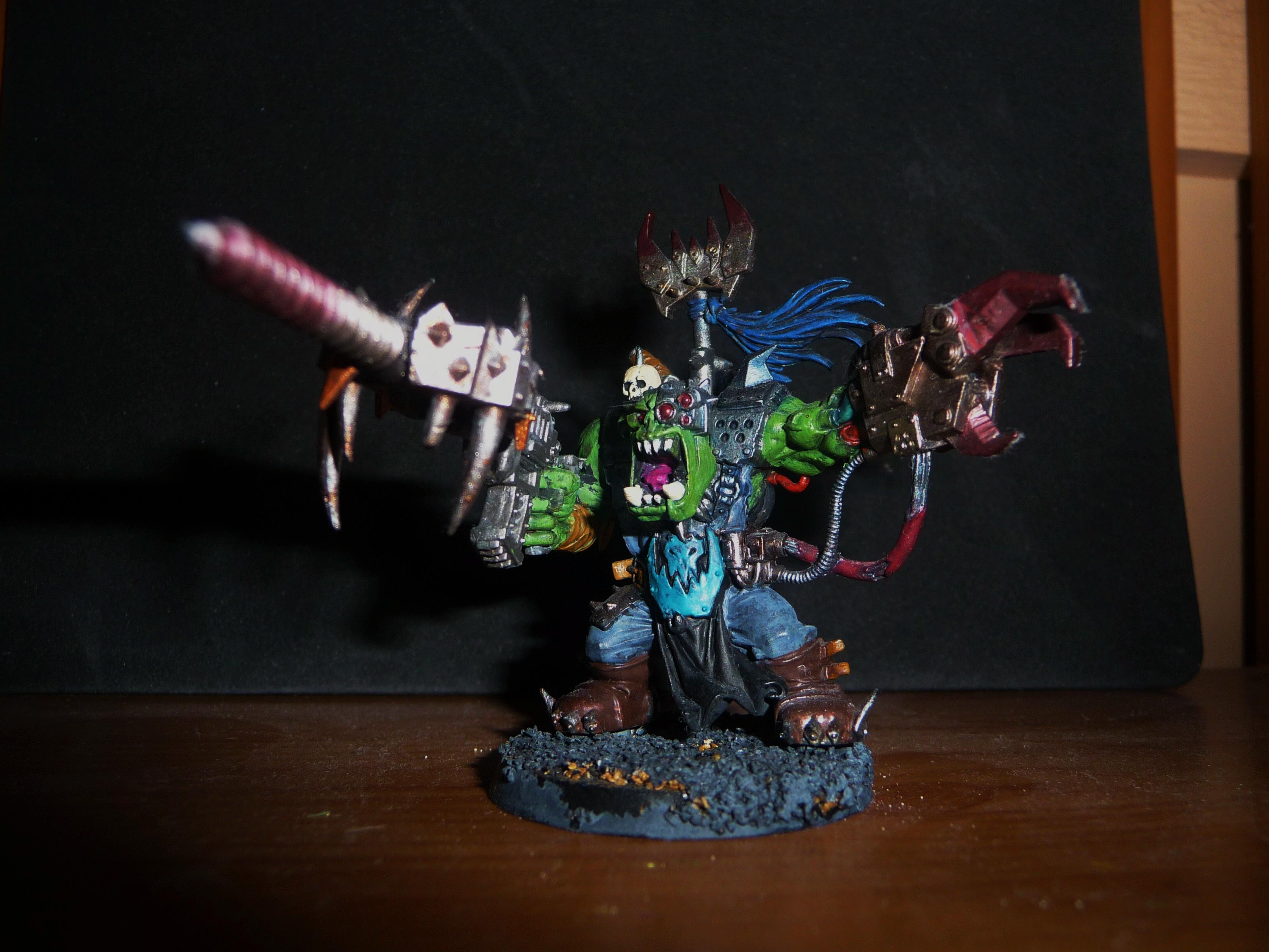 Ork Boss, Ork Boss Conversion, Orks
