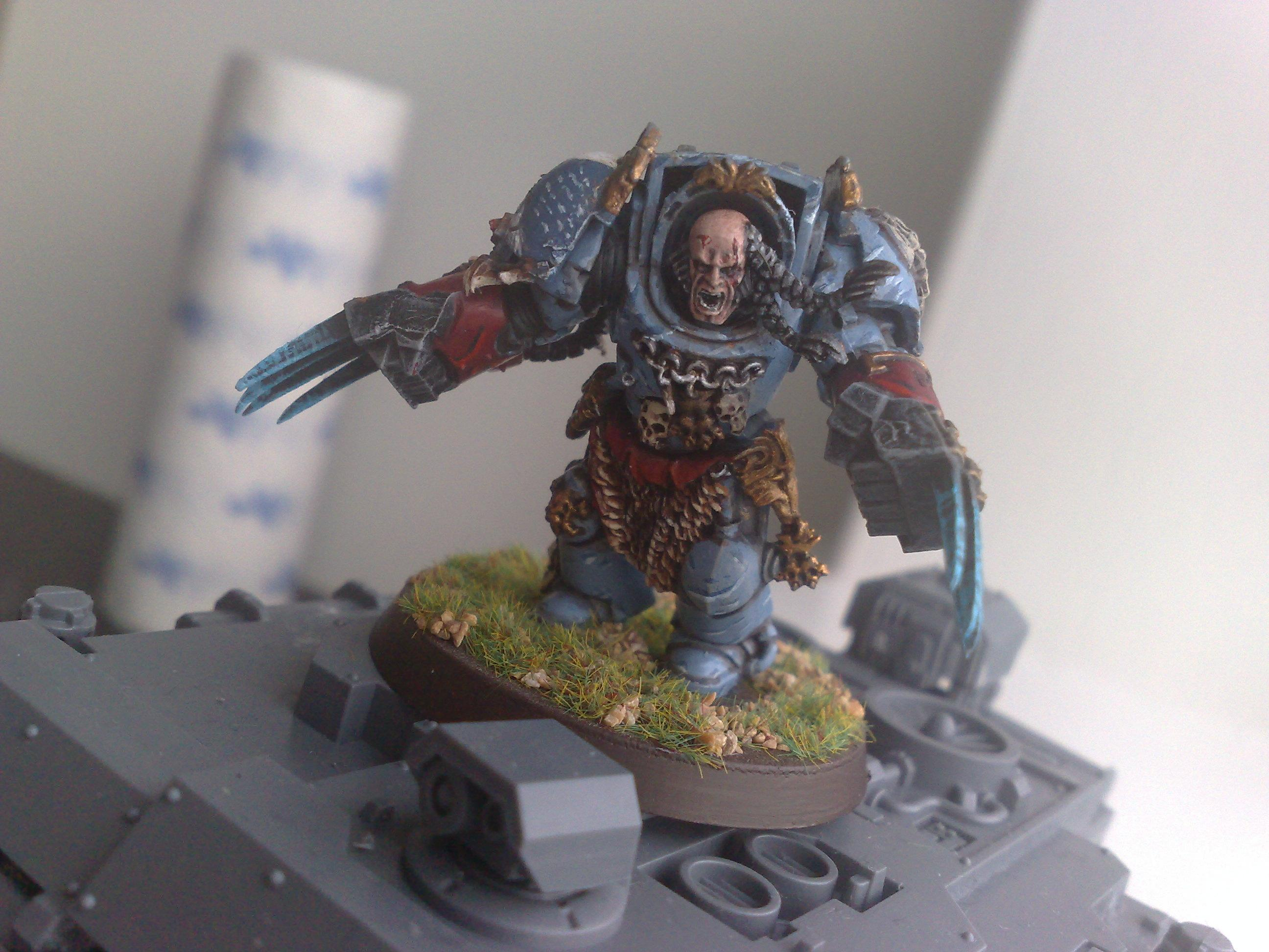 Elite, Lightning Claws, Lone Wolf, Pelt, Space Marines, Space Wolves, Spacewolf, Terminator Armor, Wolf Claws