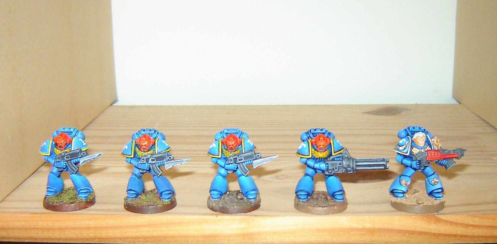 Old School, Space Crusade, Space Marines, Ultramarines, Warhammer 40,000