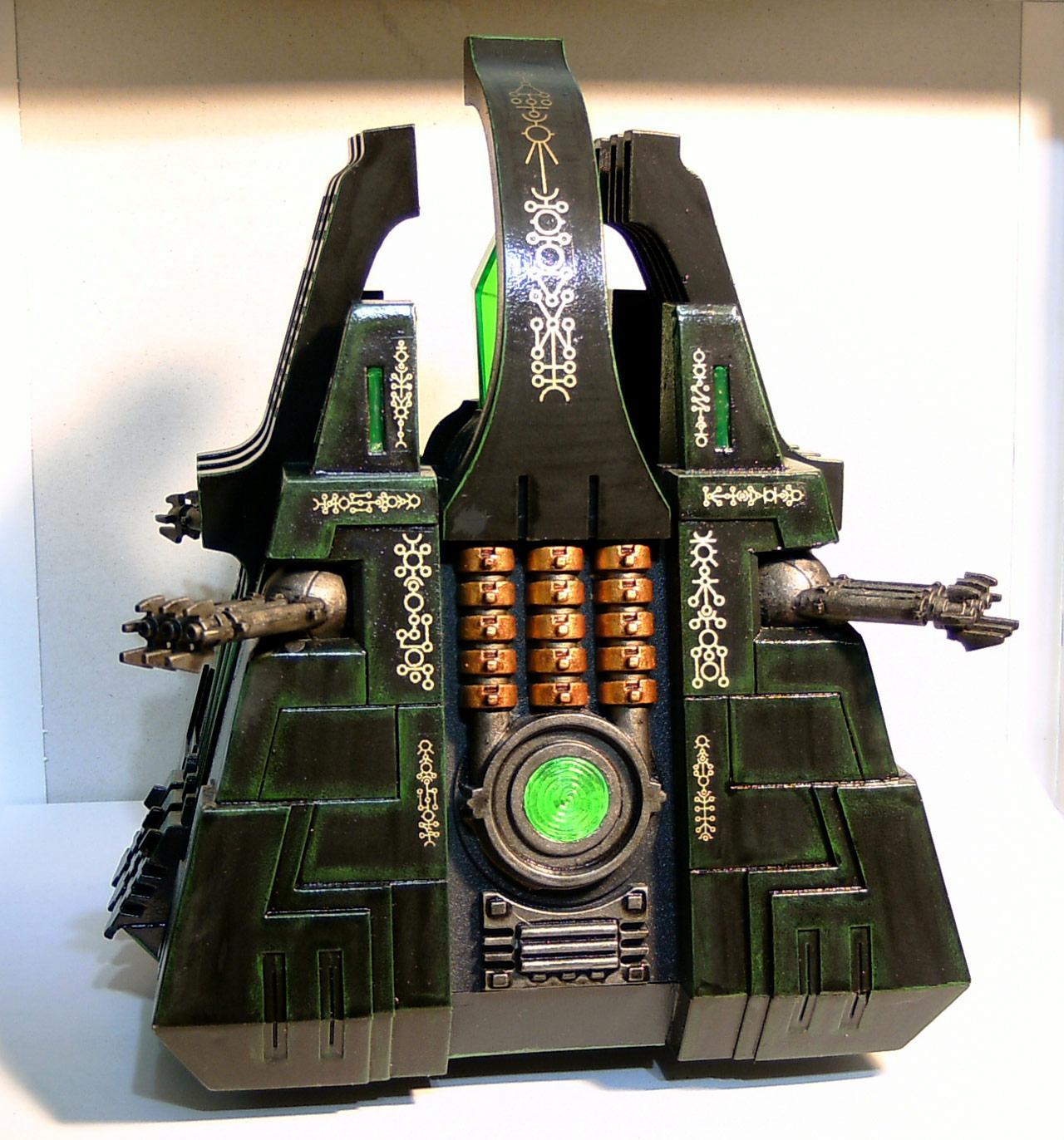 LED, Lighted, Monolith, Necrons, Warhammer 40,000
