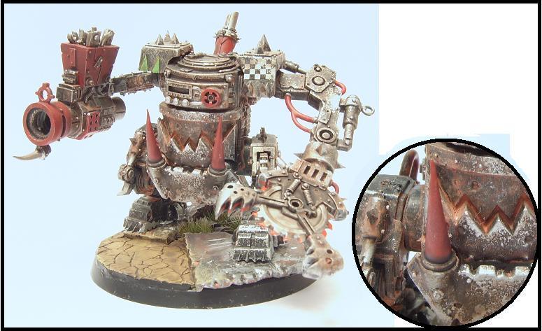 Killa Kan, Orks, Warhammer 40,000, Weathered