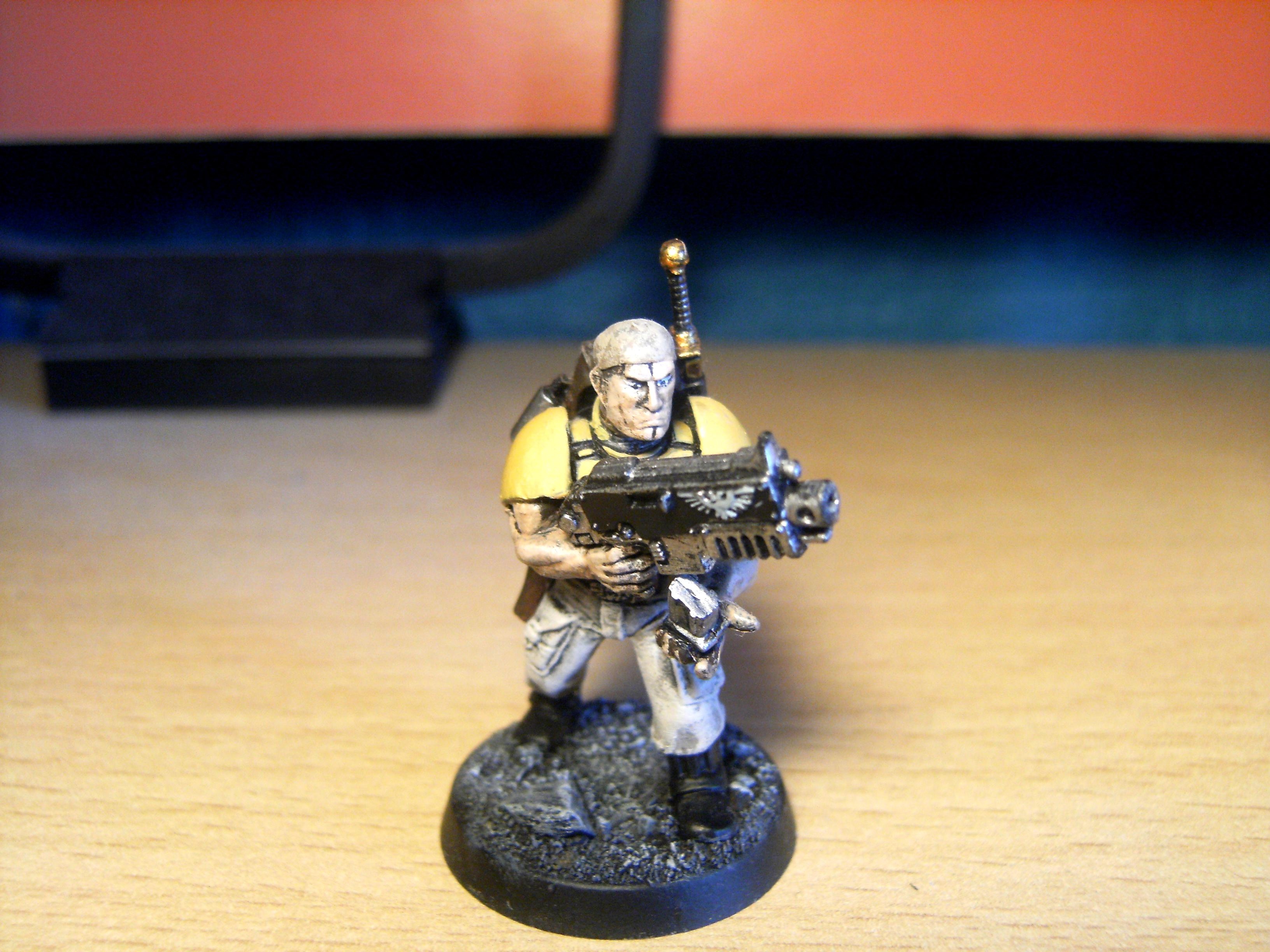 Imperial Fist Space Marines, Imperial Fists, Space Marines