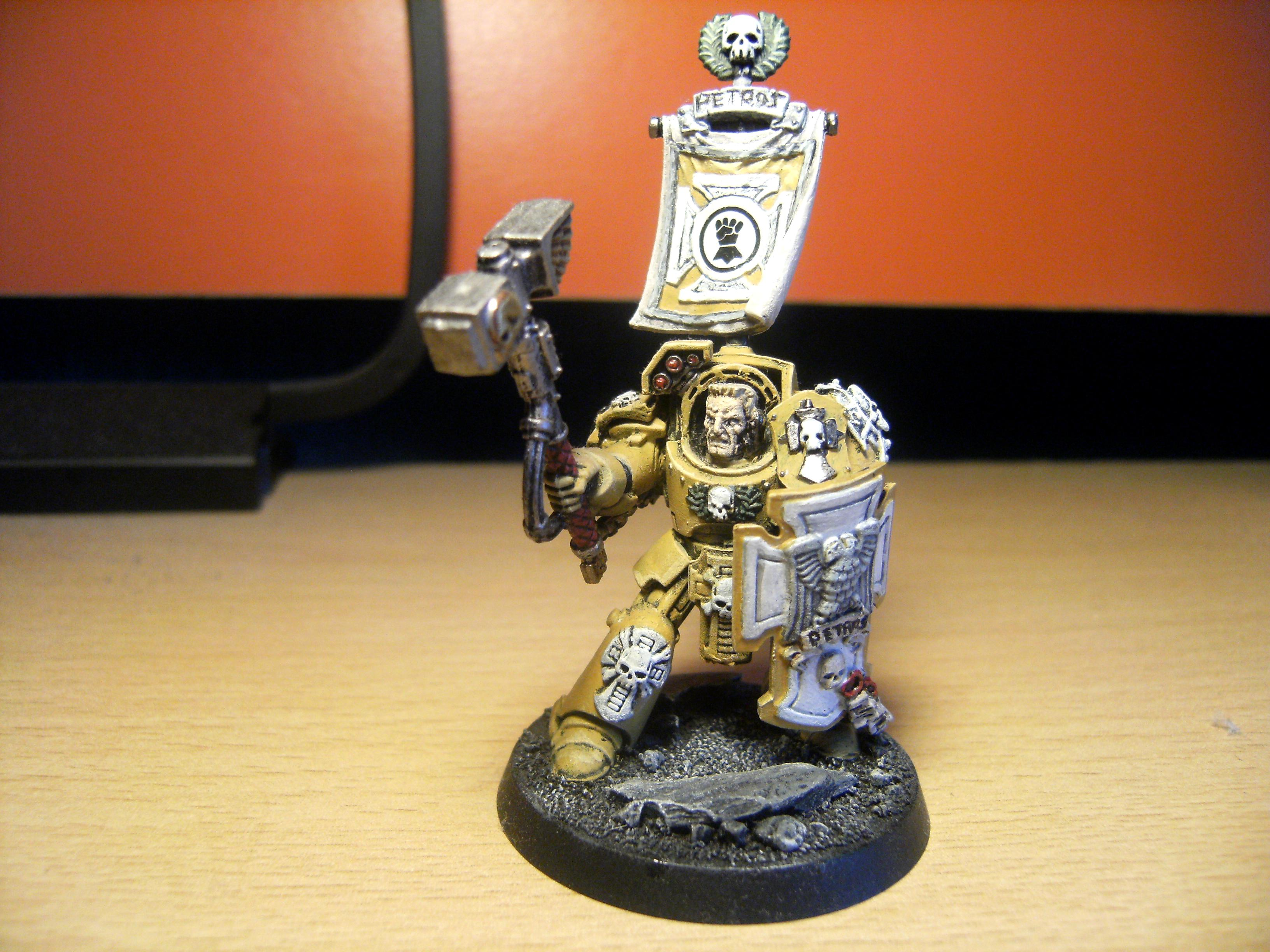 Imperial Fist Space Marines, Imperial Fists, Space Marines, Terminator Armor