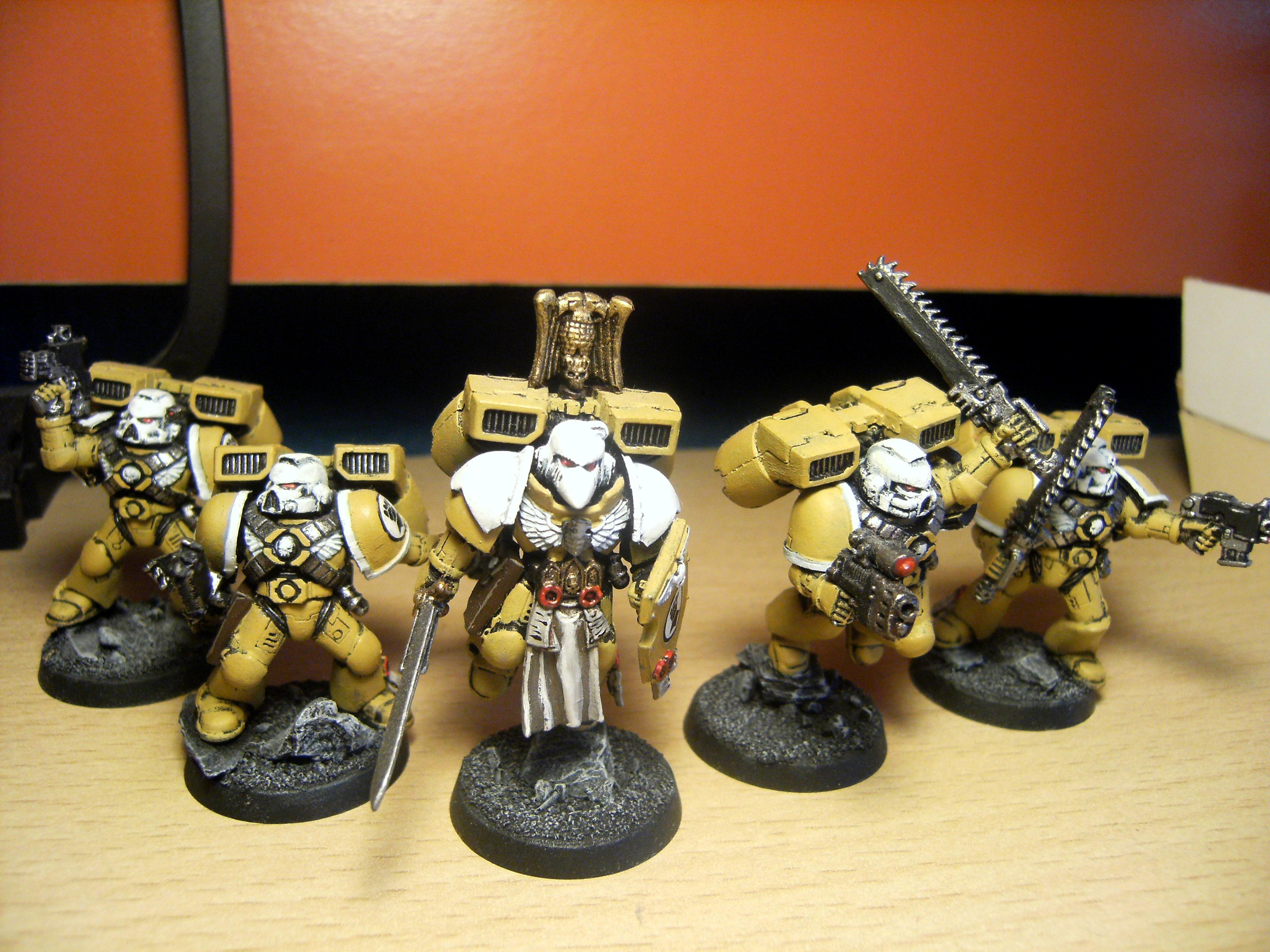 Imperial Fist Space Marines, Imperial Fists, Space Marines, Warhammer 40,000