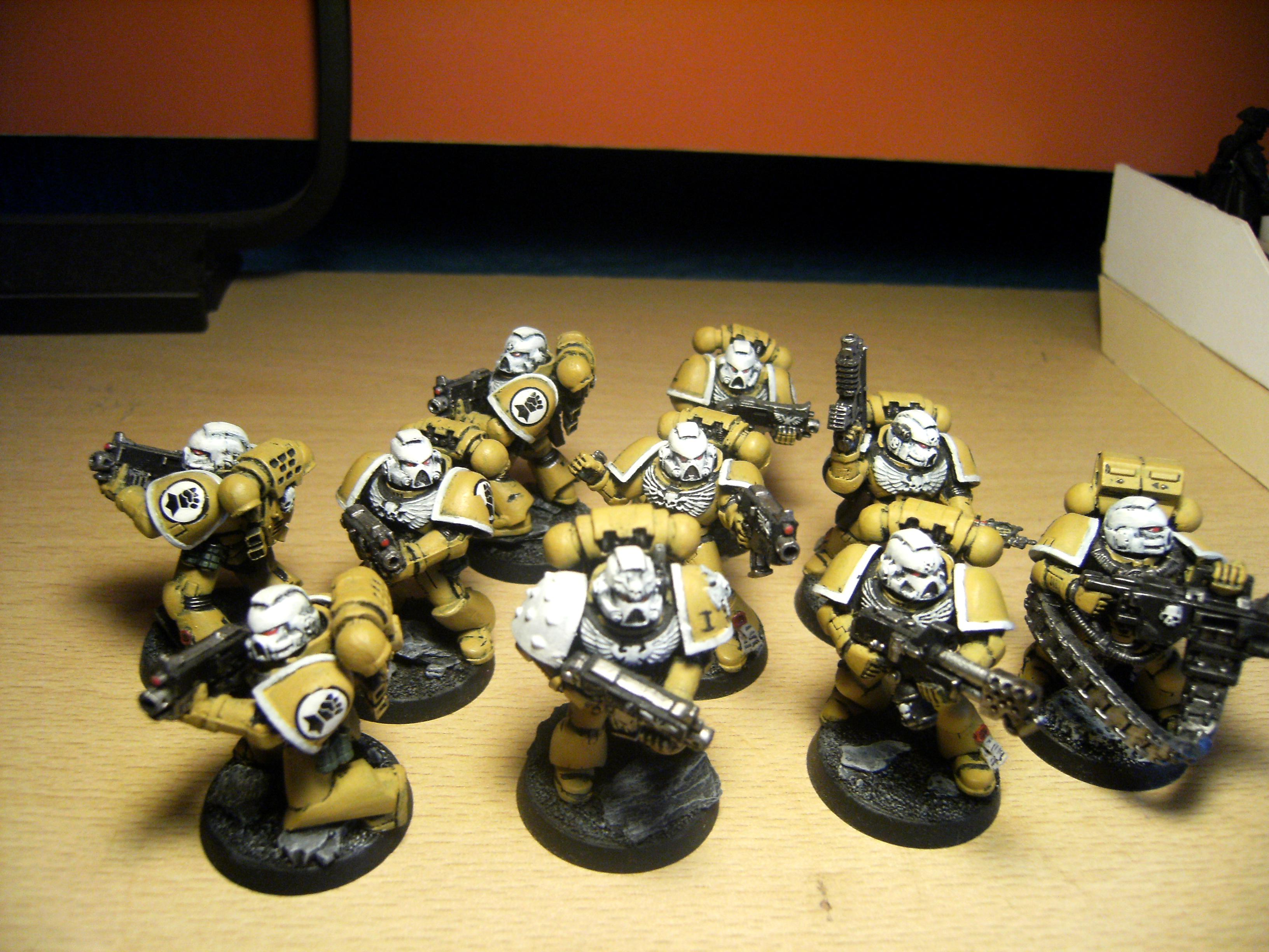 4ok, Imperial, Imperial Fist Space Marines, Space Marines