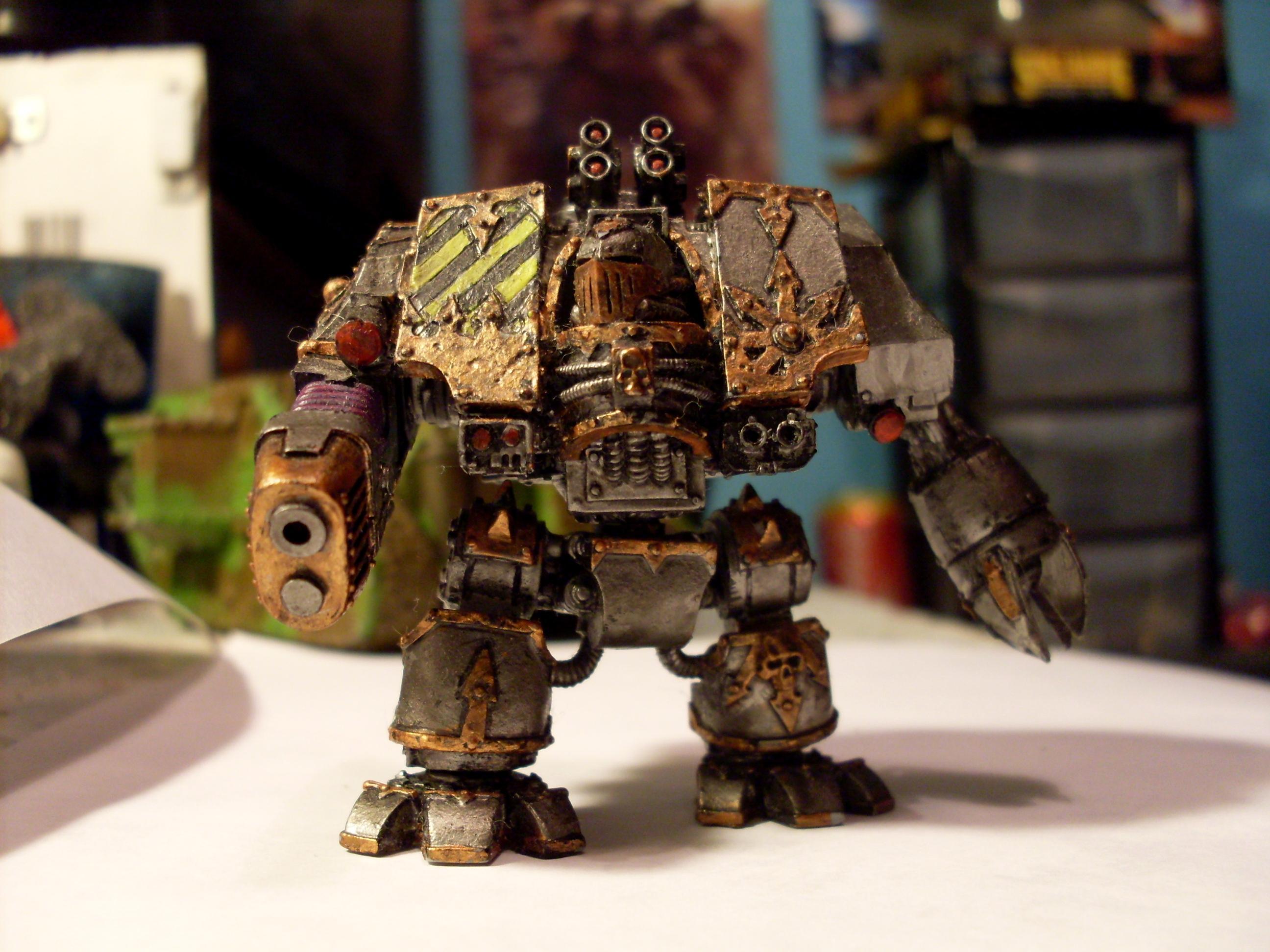 Chaos, Chaos Dreadnought, Chaos Space Marines, Dreadnought, Helbrute, Iron Warriors, Plasma Cannon, Warhammer 40,000