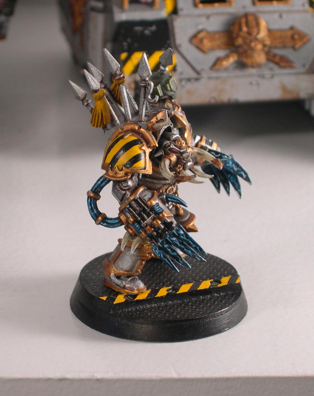 Iron Warriors, Lightning Claws, Terminator Armor