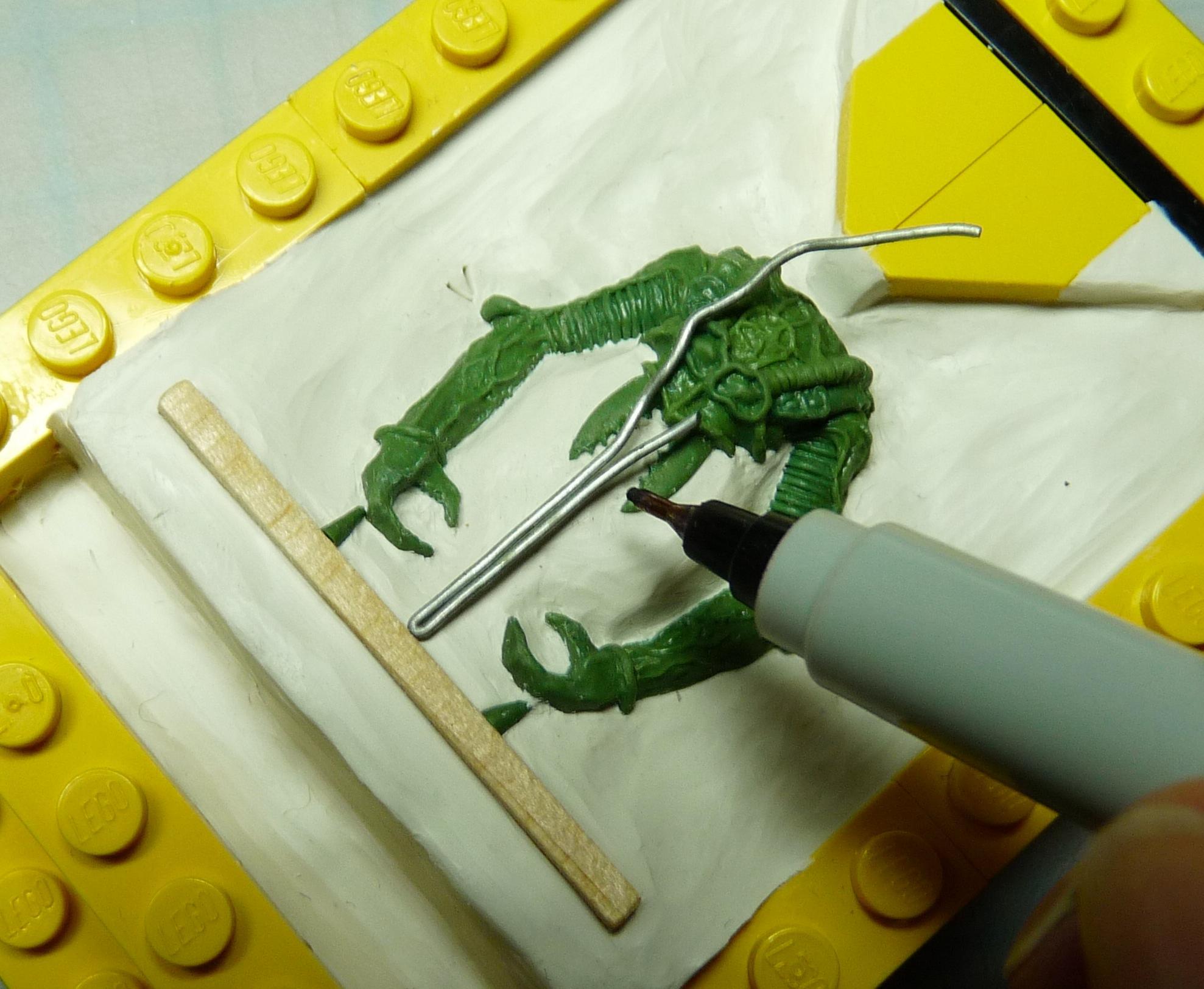 Ambull, Casting, Greenstuff, Molding