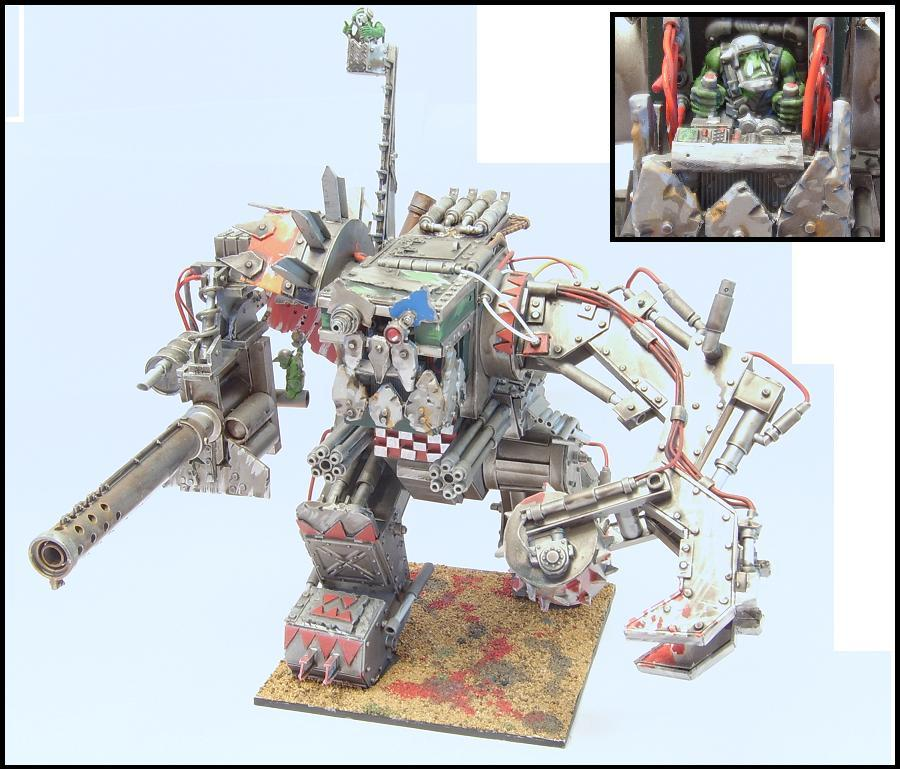 Dreadnought, Megadread, Orks, Stompa, Walker
