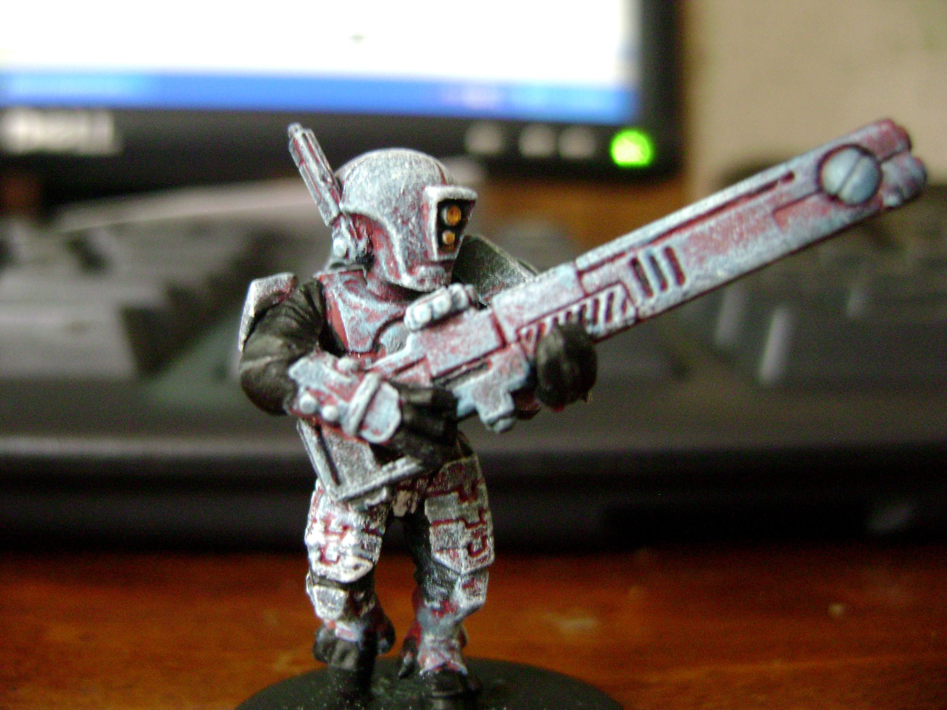 Firewarrior Firewarriors Pulse Carbine Rifle Tau Empire