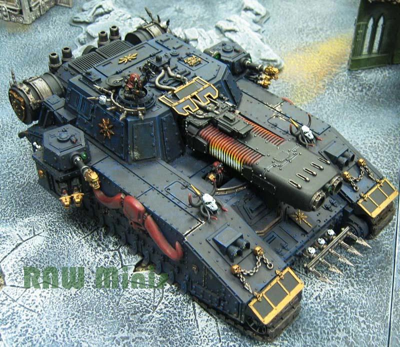 Apocalypse, Chaos, Chaos Space Marines, Conversion, Forge World, Lost And The Damned, Painting, Renegade, Stormblade, Super-heavy, Tank, Traitor