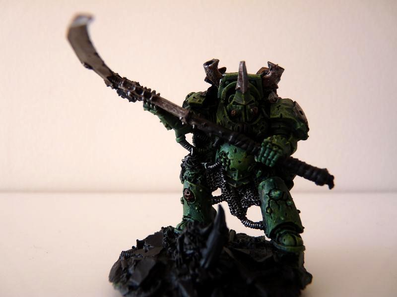 Manreaper, Nurgle, Terminator Armor, Typhus