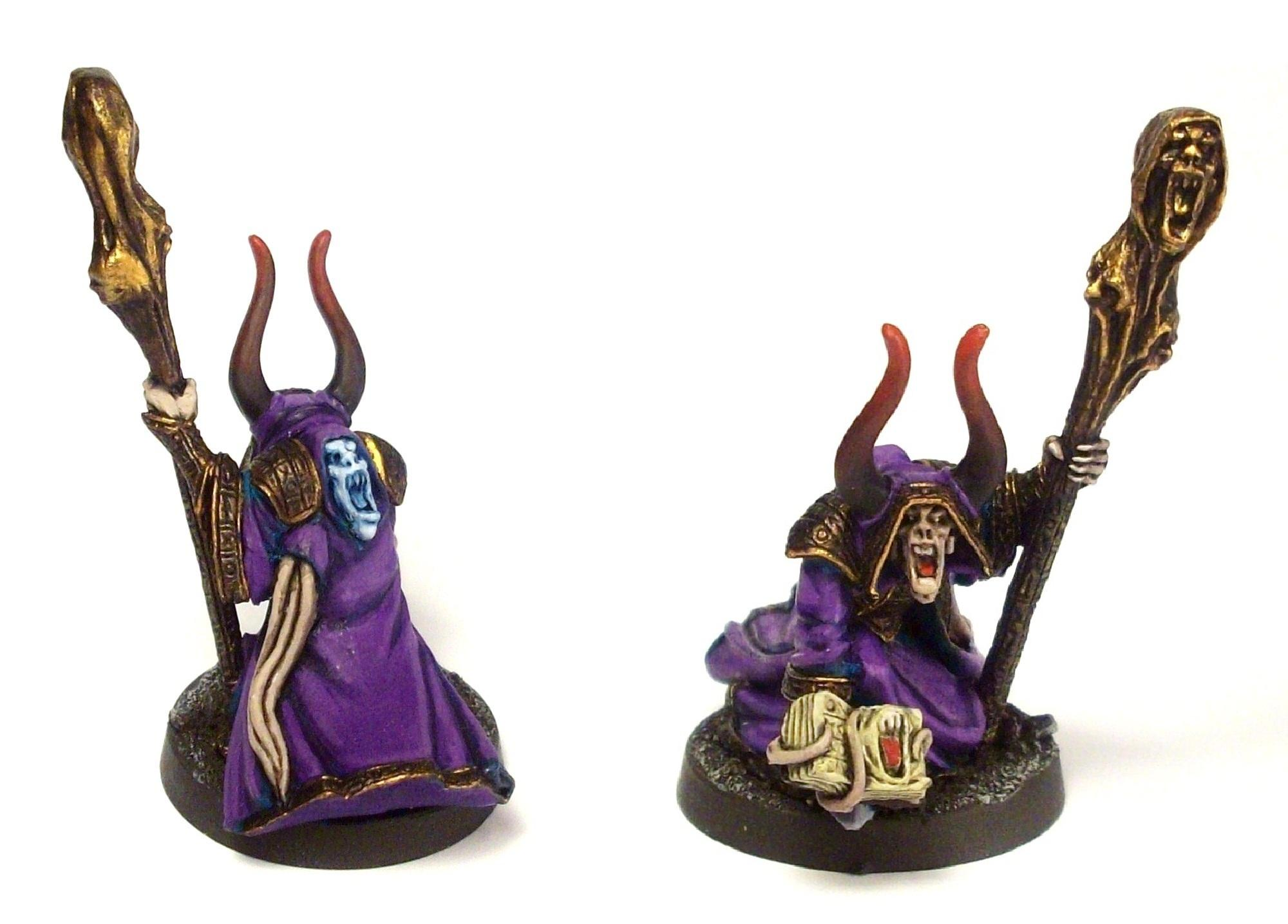 Chaos, Dungeon And Dragons, Dungeons And Dragons, Sorcerer, Tzeentch, Warhammer Fantasy, Warhammer Quest, Wizard