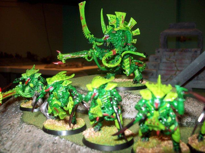 Green, Hive Tyrant, Tyranids, Warriors