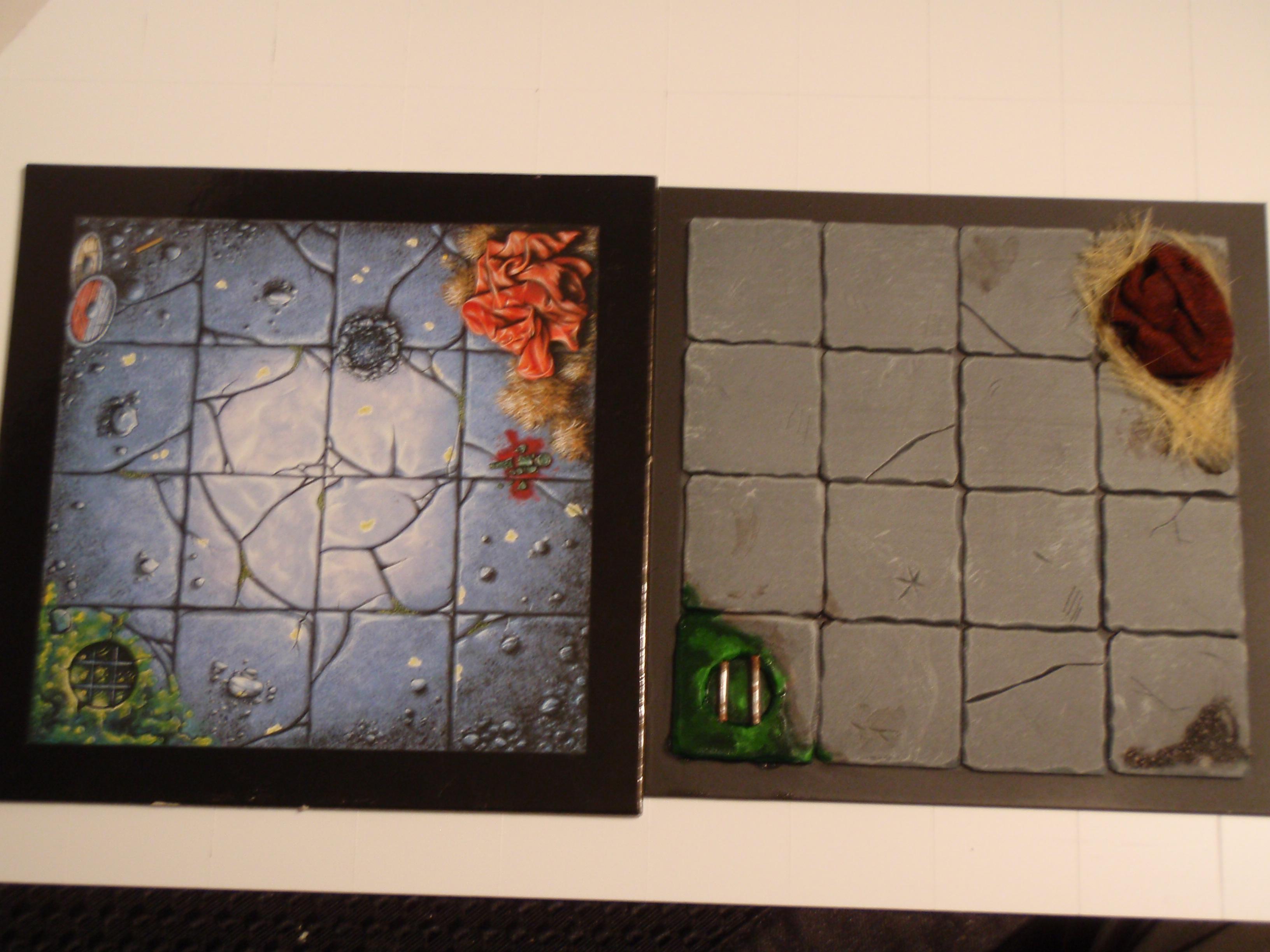 Comparison with the original card tile
