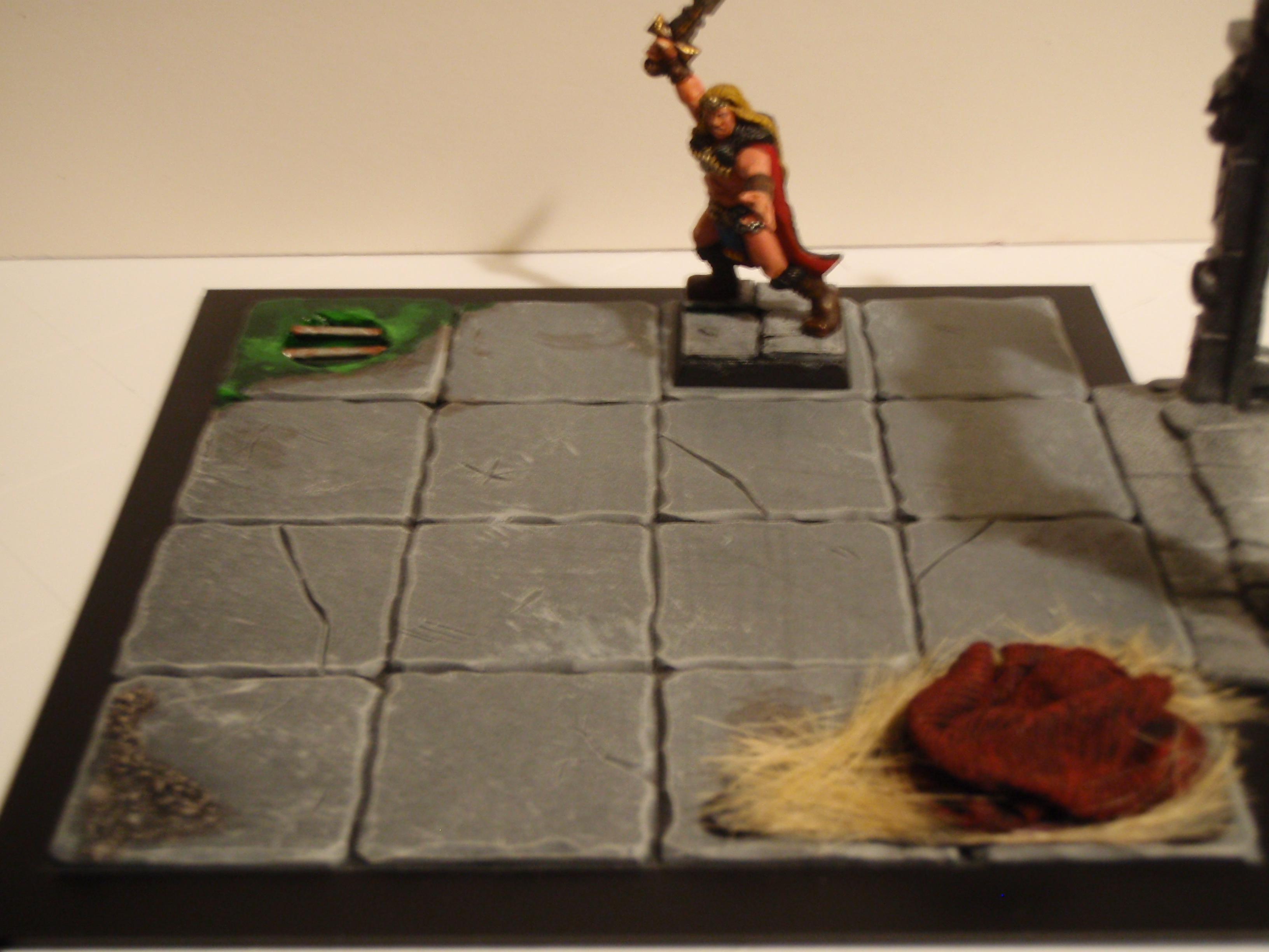 Monsters' Lair Tile for Warhammer Quest
