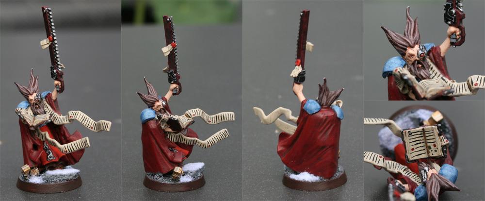 Ig Priest, Witch Hunters, Witch Hunters Priest Warhammer Wizard, Wizard