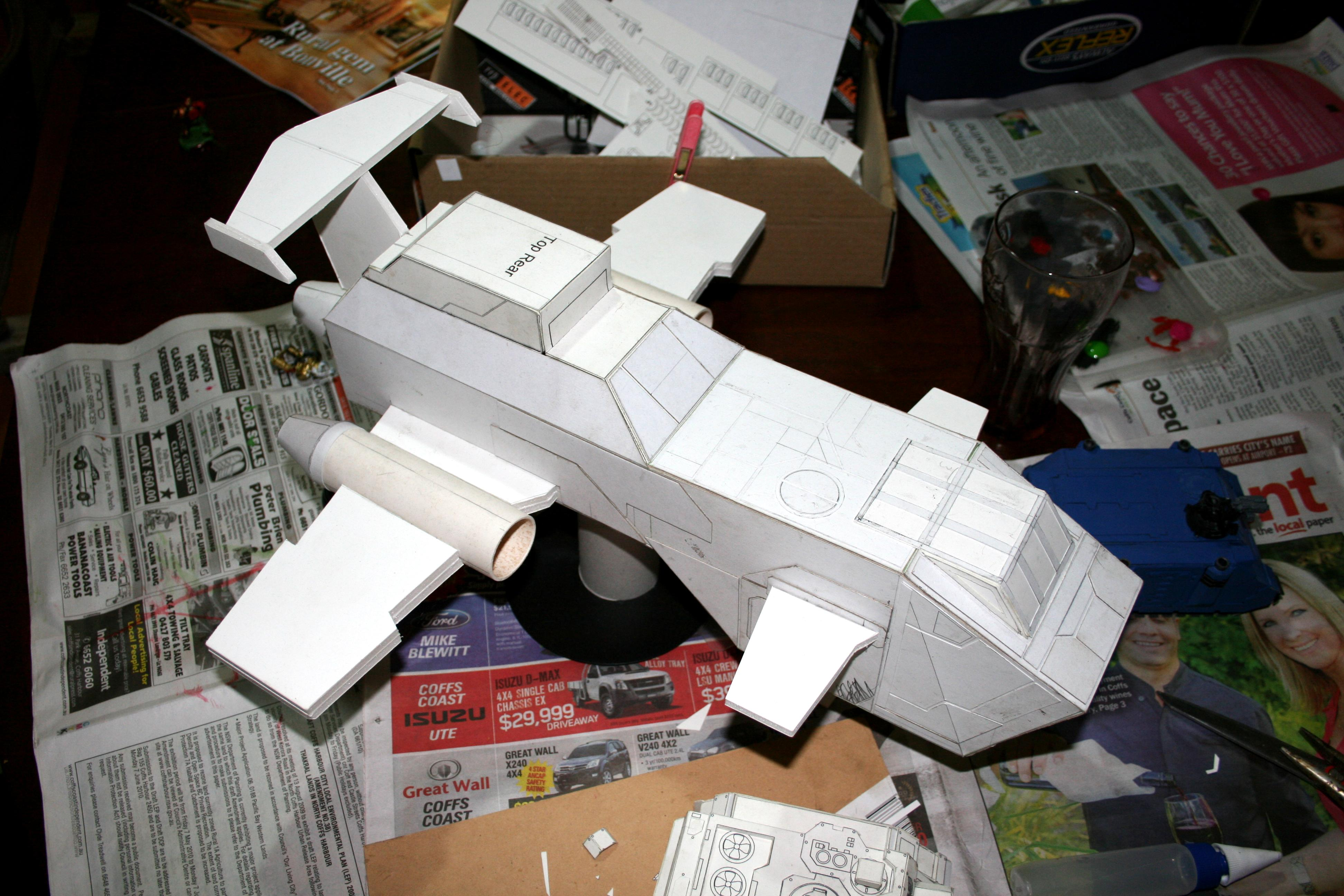 Paper, Scratch Build, Thunderhawk