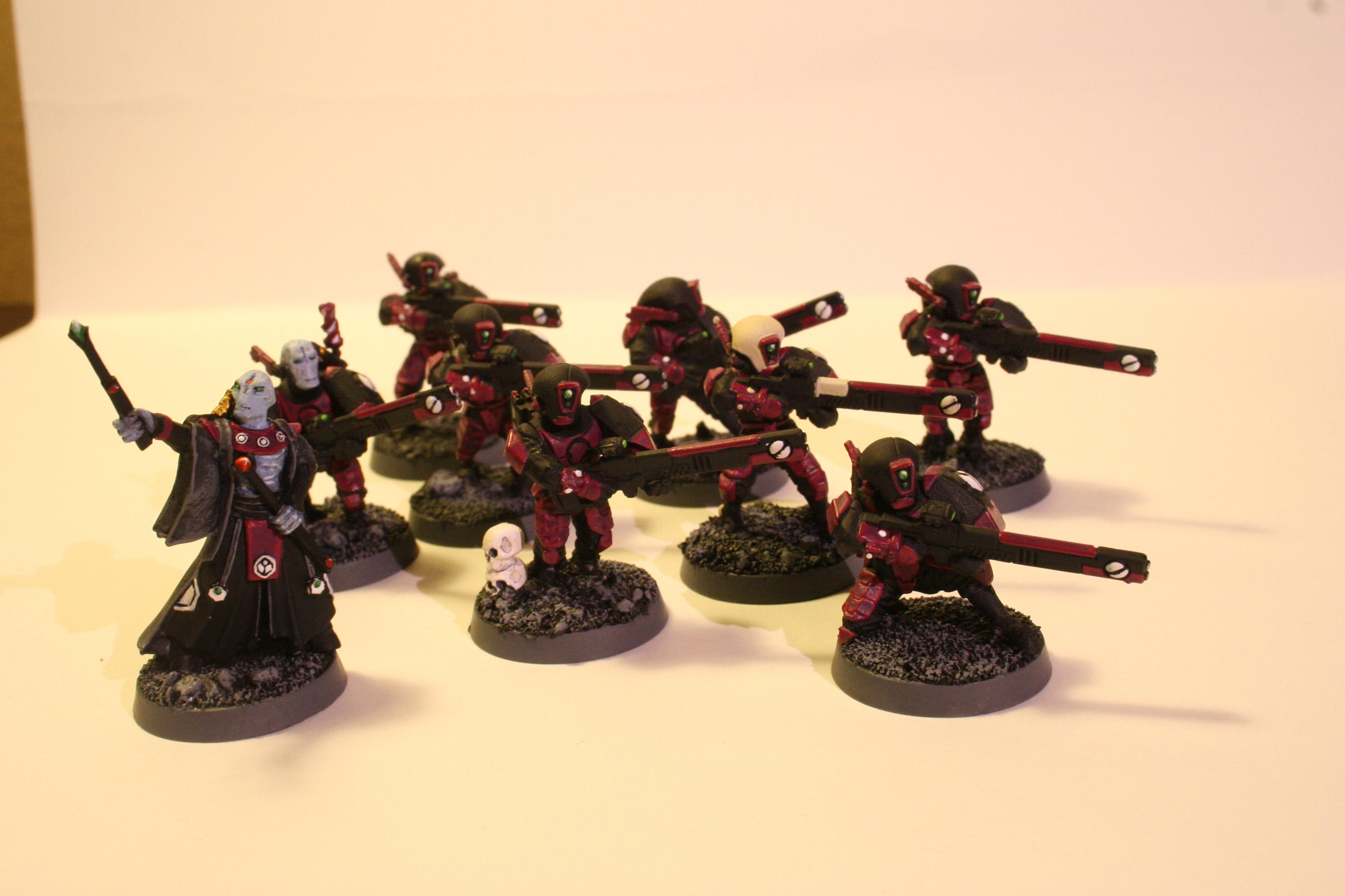 Brush, Cadre, Ethereal, Fire Warriors, Perils, Tau, Warhammer 40,000