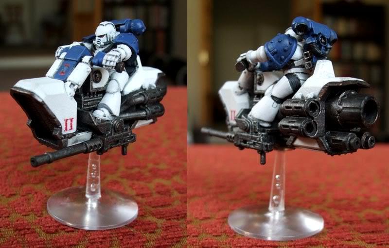 Jetbike, Pre-heresy, Space Marines, World Eaters