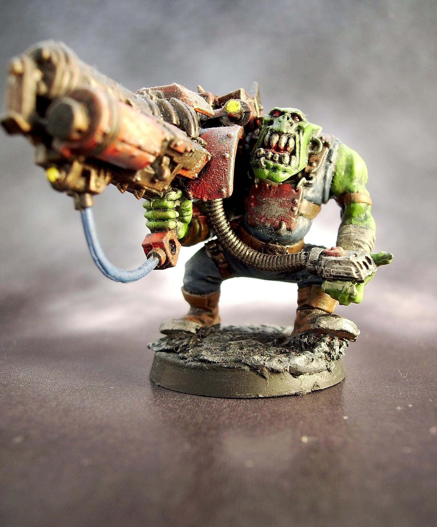 Big Shoota, Lootas, Orks, Warhammer 40,000
