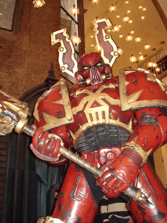 Berserkers, Chaos, Cosplay, Games Day, Suit, Warhammer 40,000