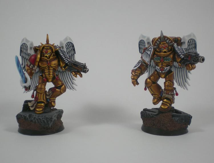 Blood Angels, Sanguinary Guard, Space Marines, Warhammer 40,000