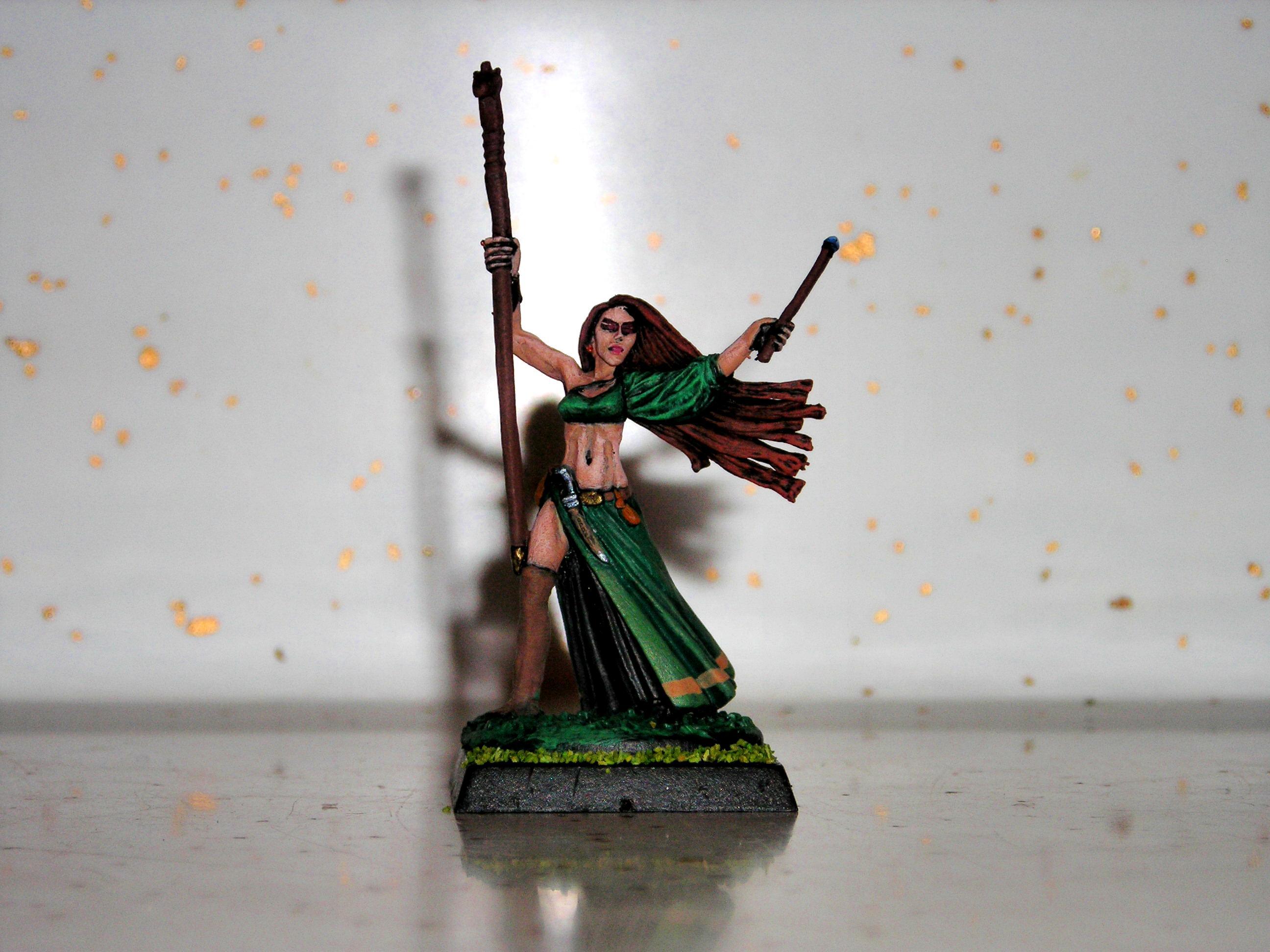 Druid, Female, Reaper