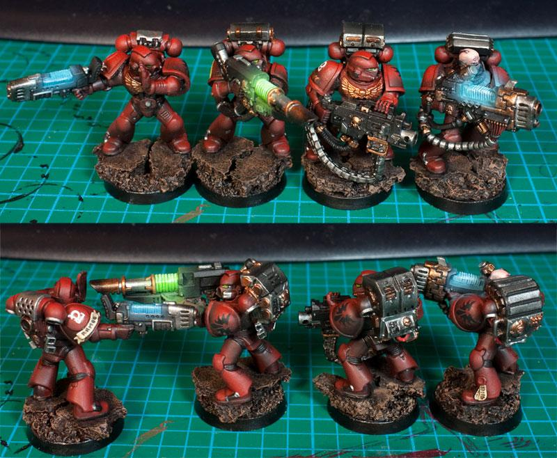 Blood Angels, Devastator, Devastators, Object Source Lighting, Space Marines, Warhammer 40,000
