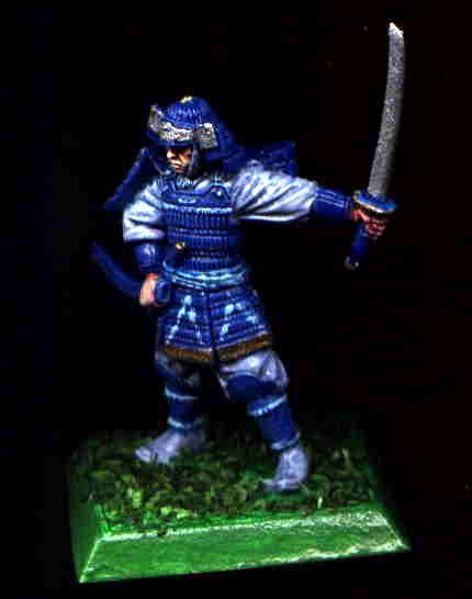 Blue, Bushi, Character, Clan War, Crane, Katana, L5r, Legend Of The Five Rings, Samurai, White