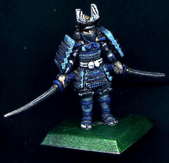 Blue, Bushi, Character, Clan War, Crane, Daisho, Katana, L5r, Legend Of The Five Rings, Samurai, Wakizashi, White
