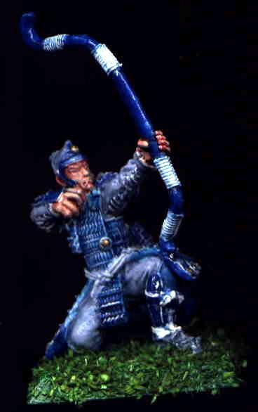Archers, Blue, Bushi, Character, Clan War, Crane, L5r, Legend Of The Five Rings, Samurai, White