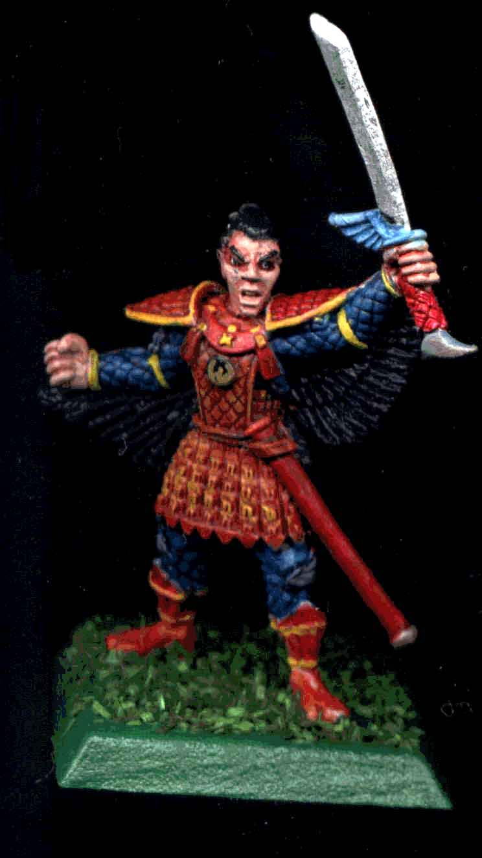 Bushi, Character, Clan War, Katana, L5r, Legend Of The Five Rings, Orange, Phoenix, Red, Samurai, Yellow