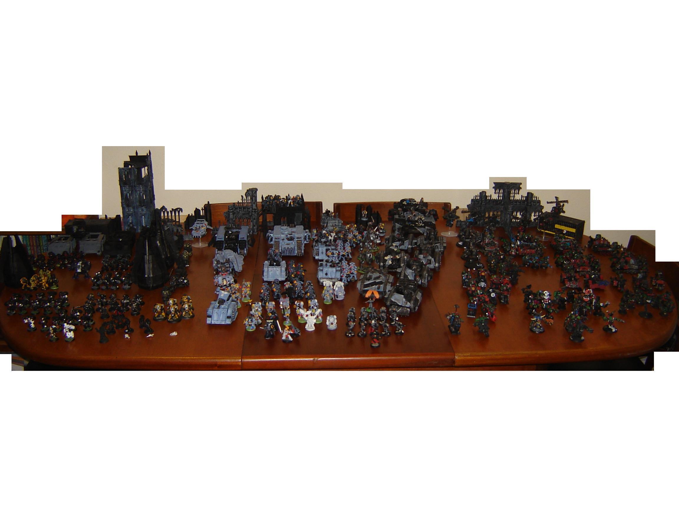 Collection, Land Raider, Space Marines, Work In Progress