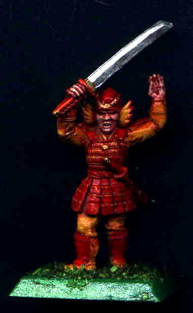 Bushi, Clan War, Heavy, Infantry, Katana, L5r, Legend Of The Five Rings, Not In The Face, Orange, Phoenix, Red, Samurai, Yellow