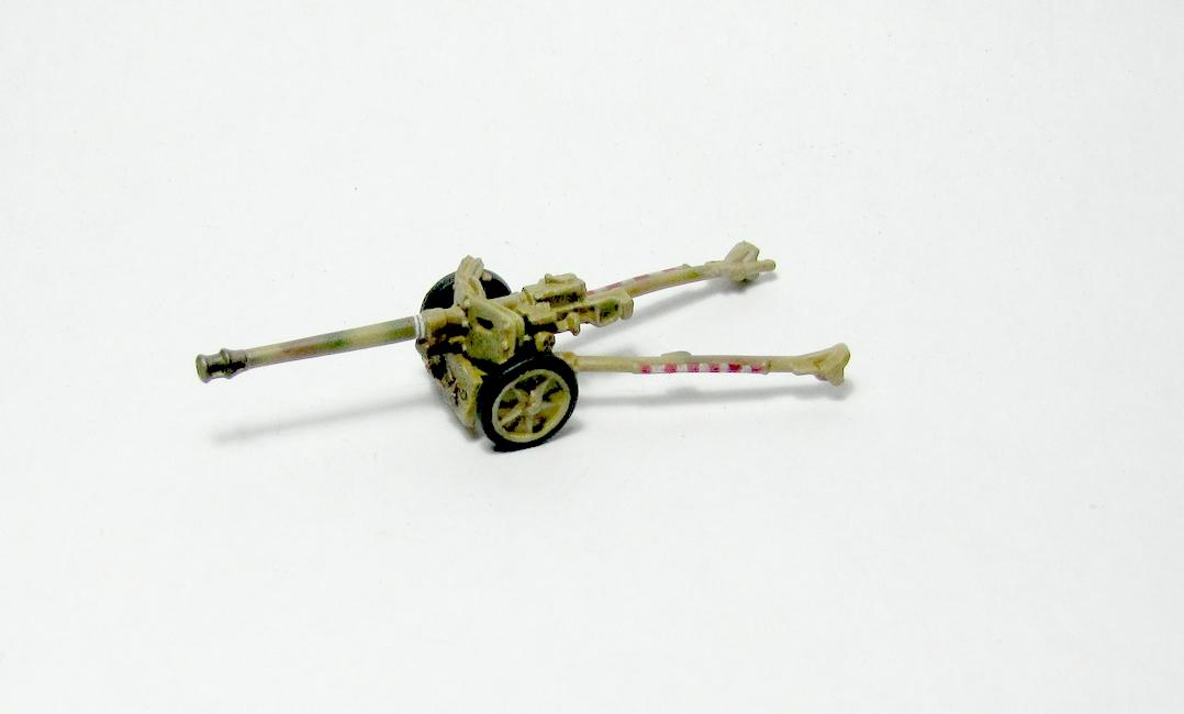 15mm, Flames Of War, Pak40, Ss, World War 2