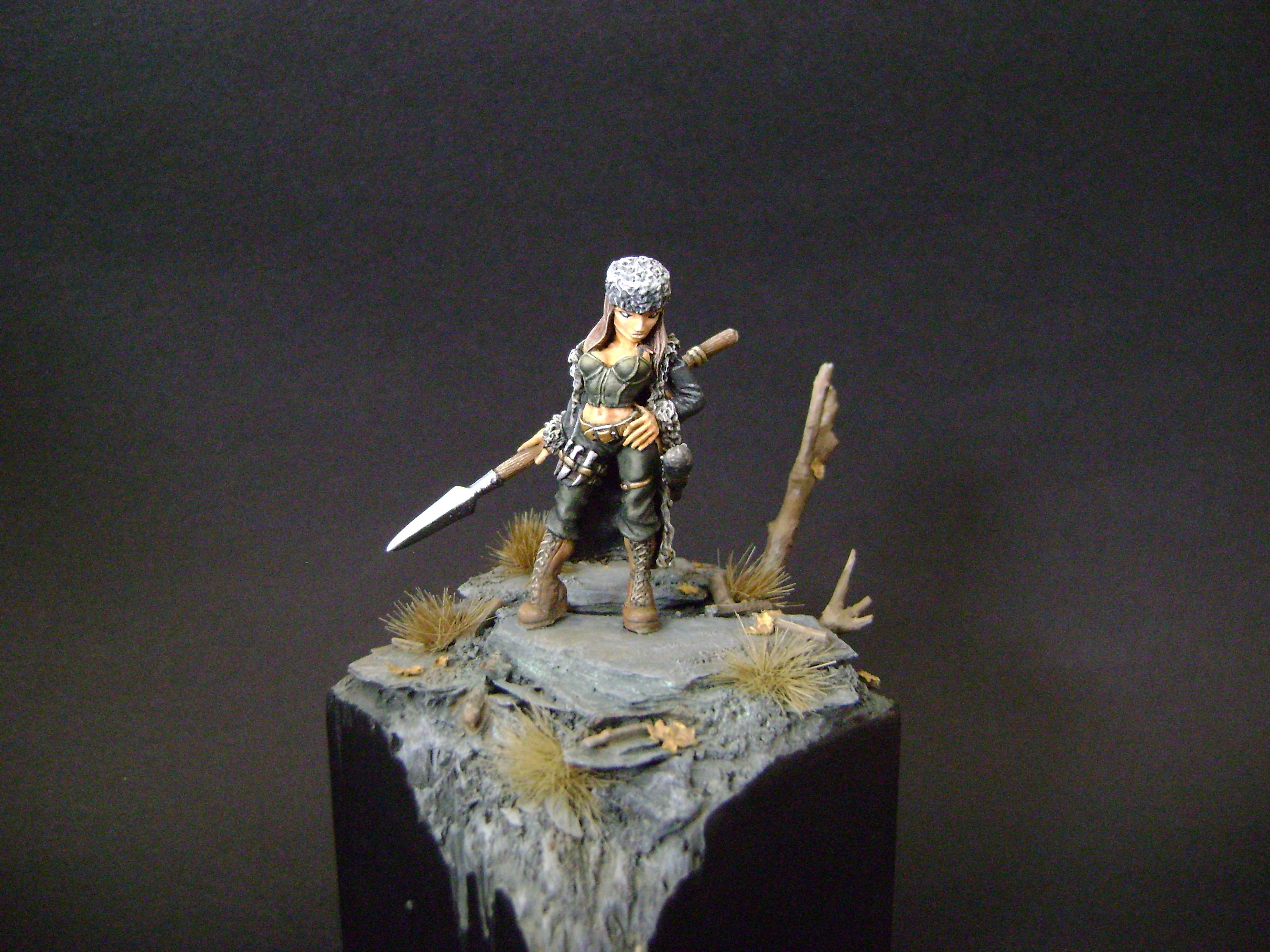 Female, Freebooter Miniatures, Hunter