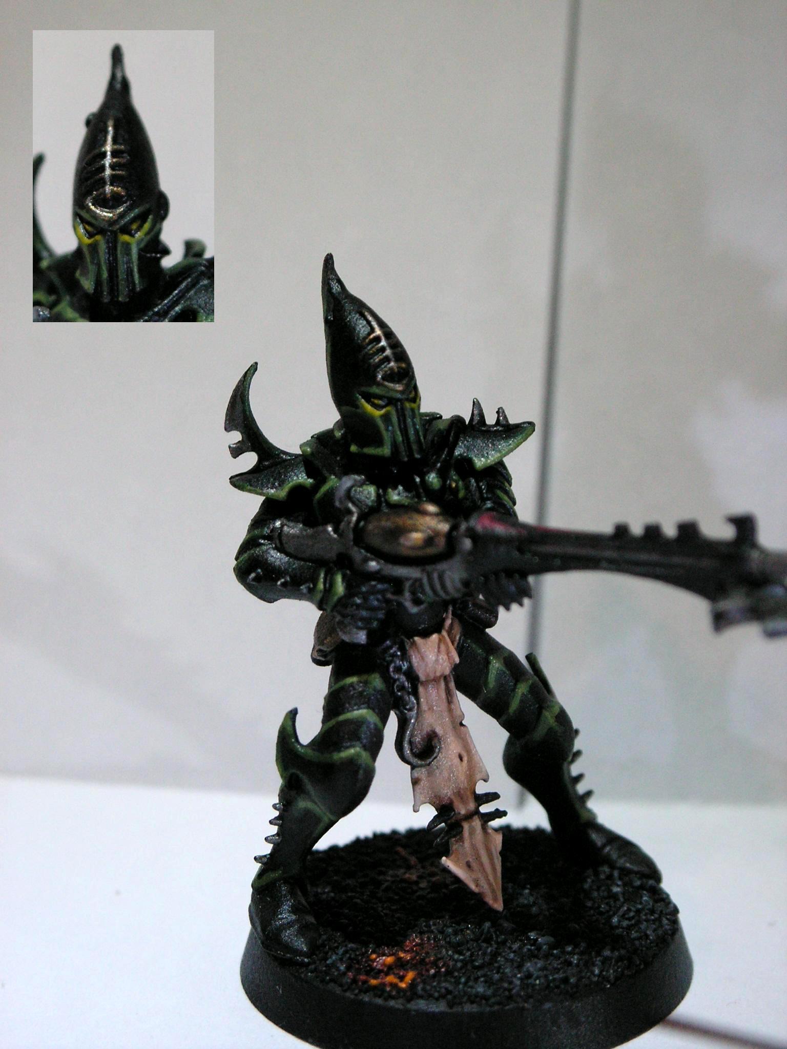 Dark Eldar, Gree, Object Source Lighting, Warriors