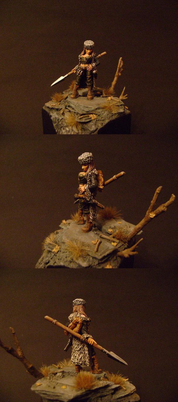 Female, Freebooter Miniatures, Hunter