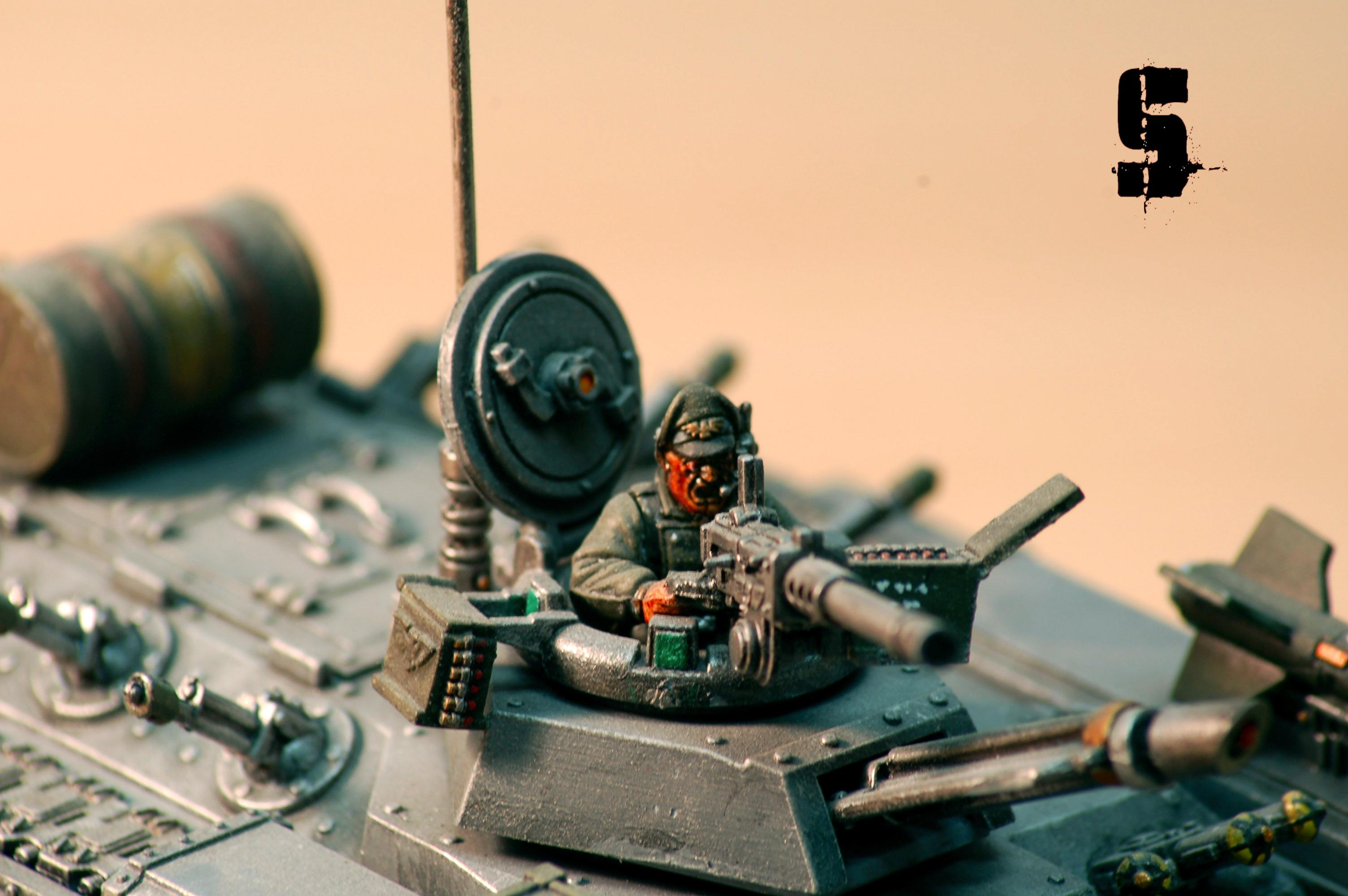 Chimera tank commander