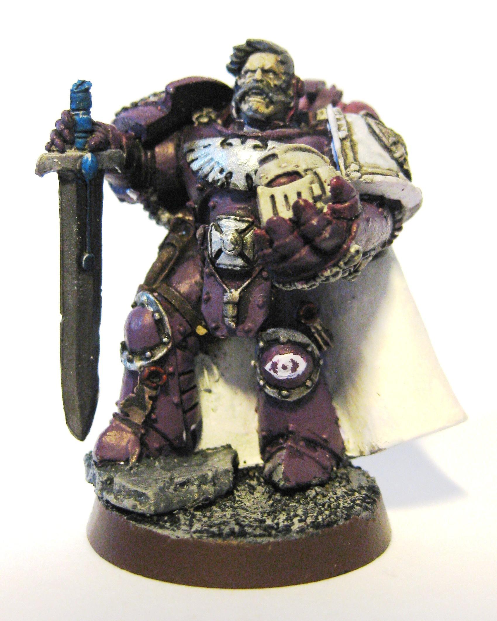 Custom Cchapter, Mind Tearers, Purple, Space Marines