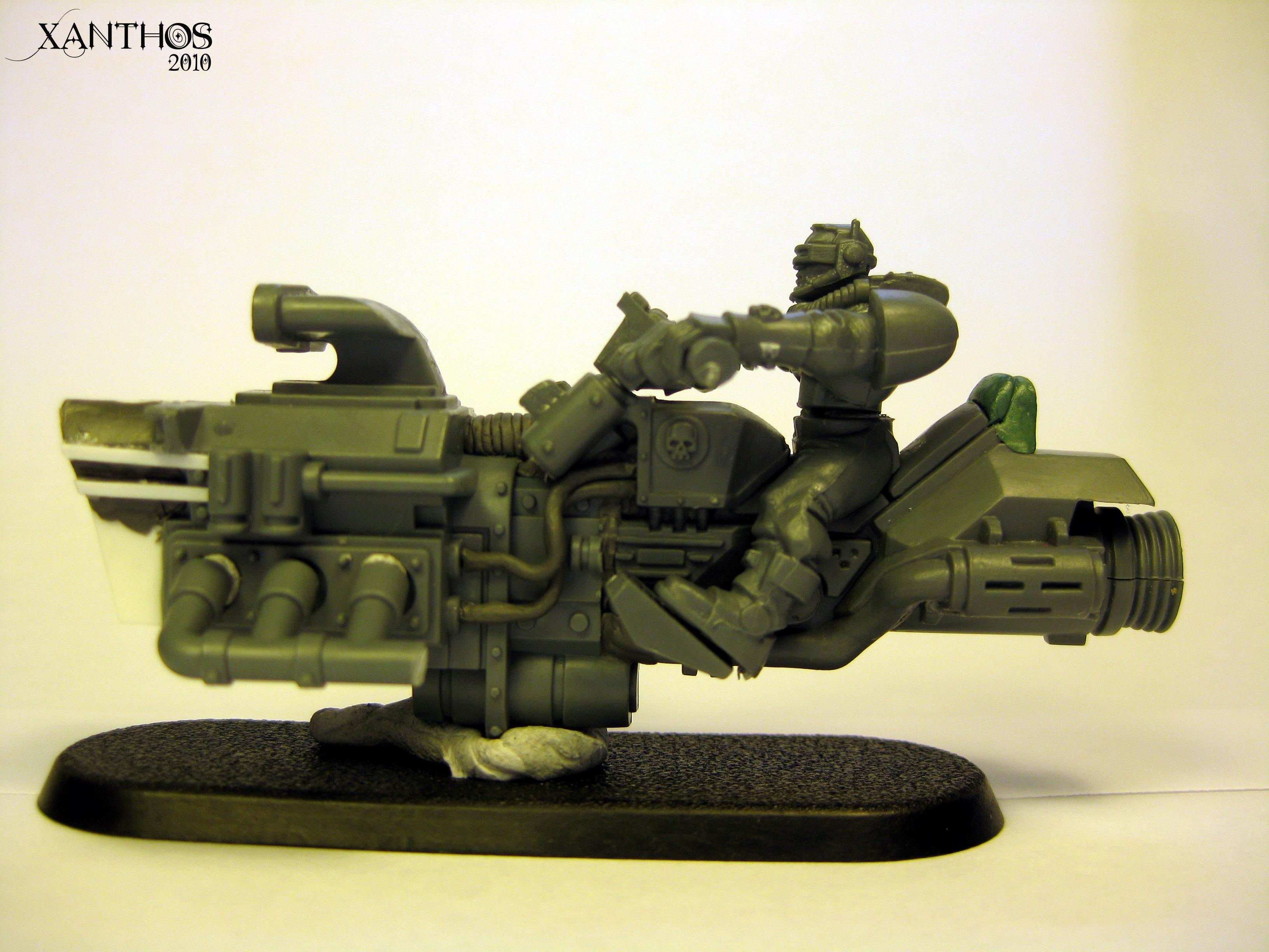 Imperial, Jetbike, Scratch Build, Warhammer 40,000, Work In Progress