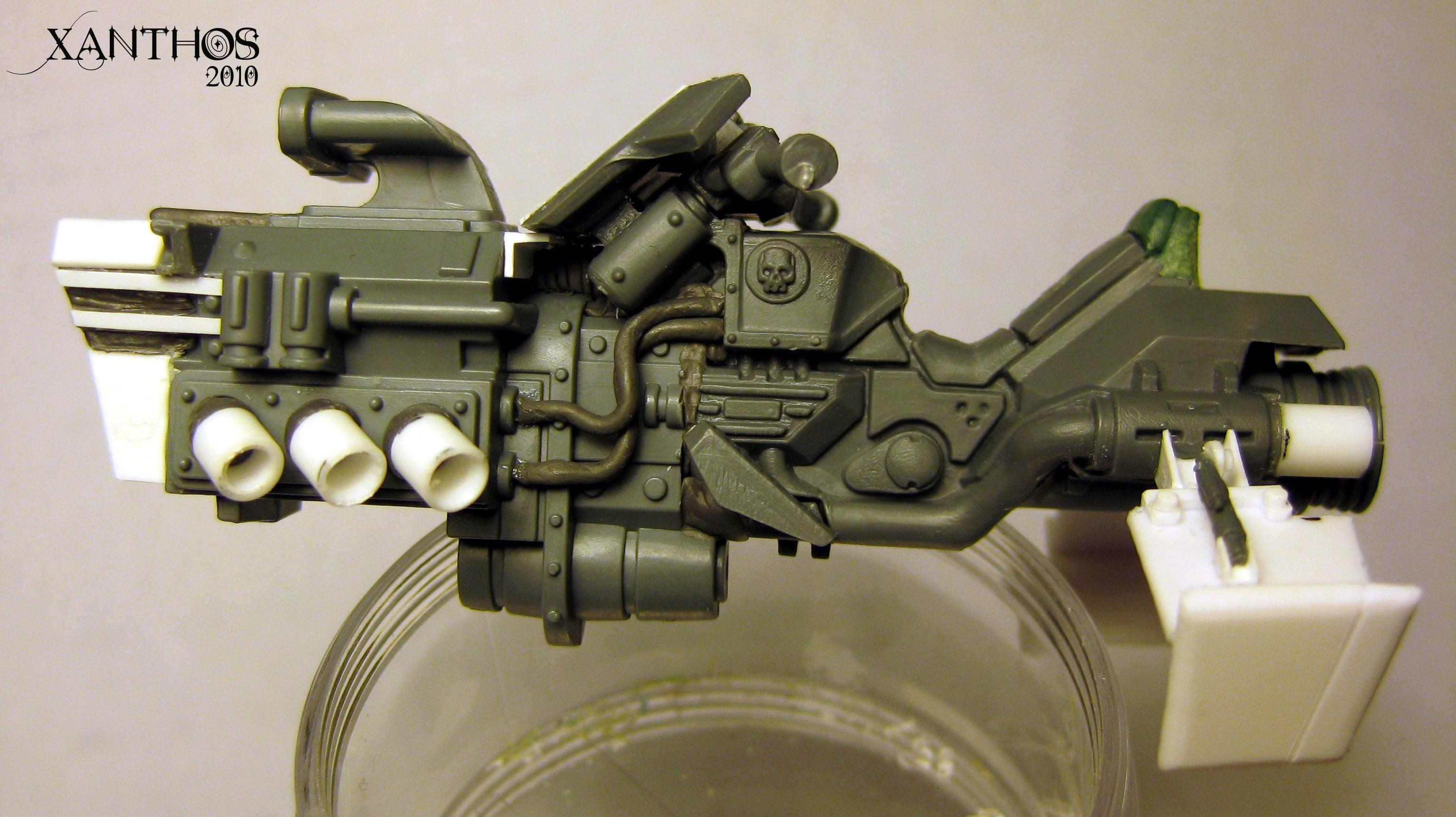 Imperial, Jetbike, Necromunda, Warhammer 40,000, Work In Progress