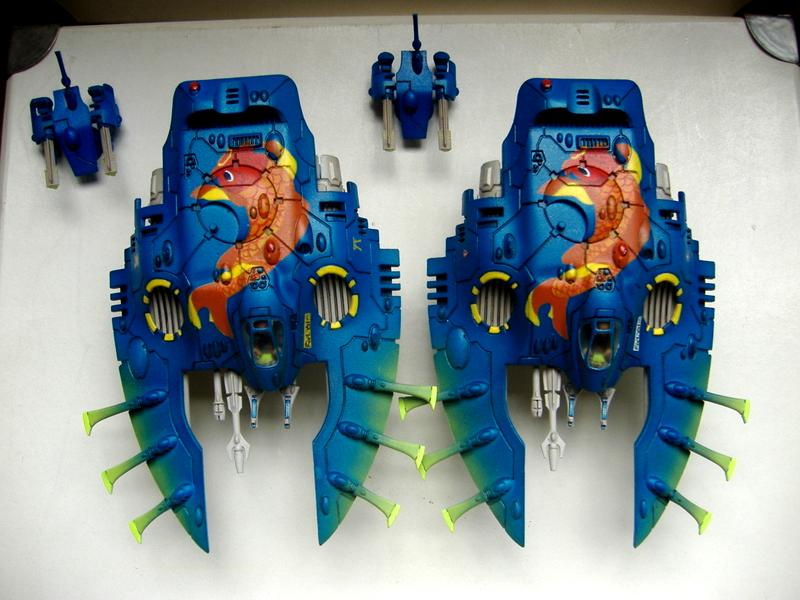Awesome!, Eldar, Freehand, Wave Serpent