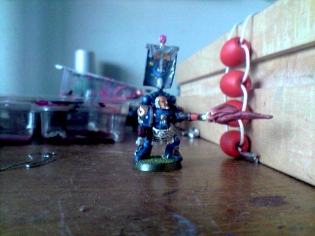My Space Marine Blast Green Stuff Epic Awsome