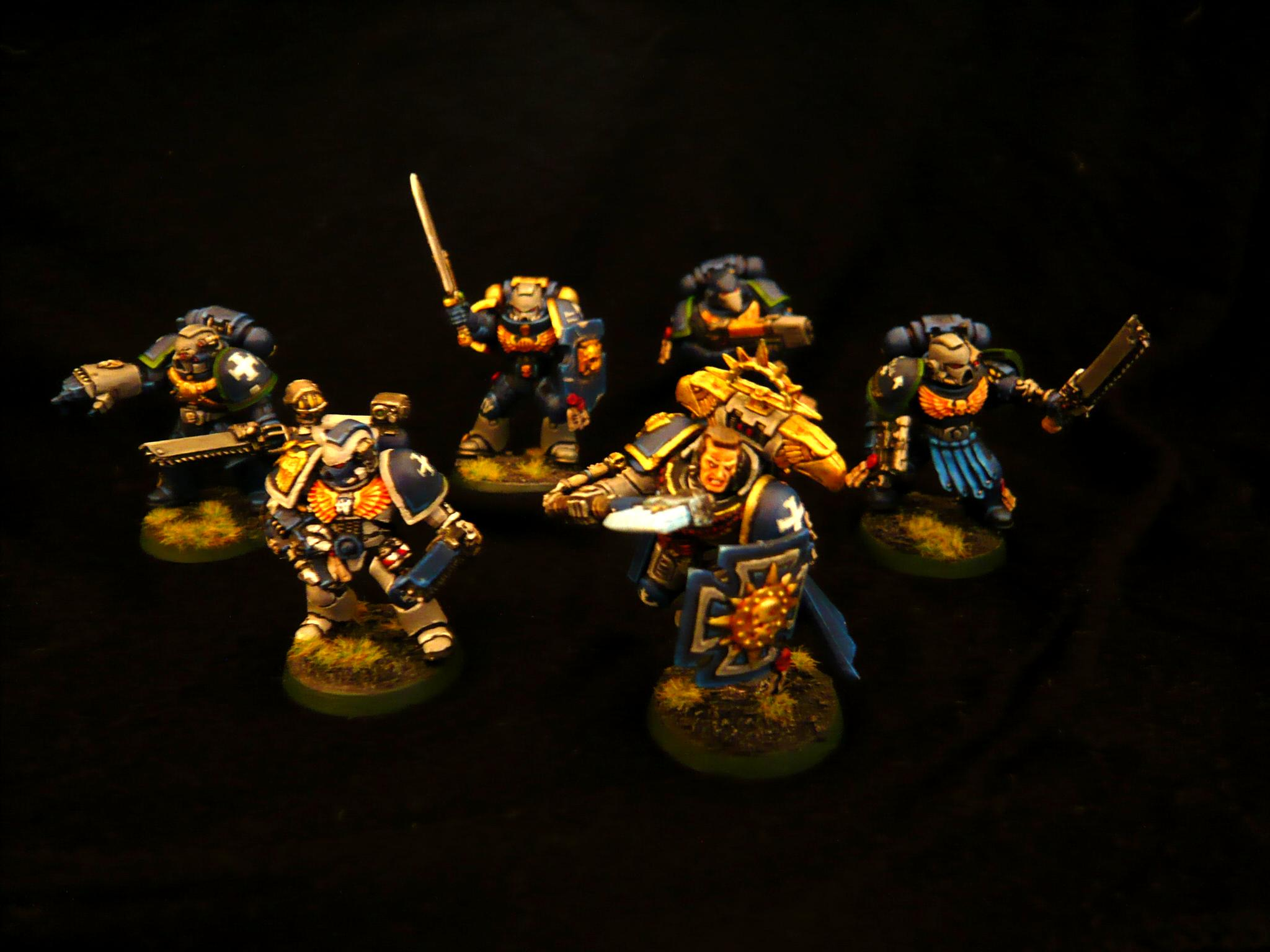 Command Squad, Space Marines