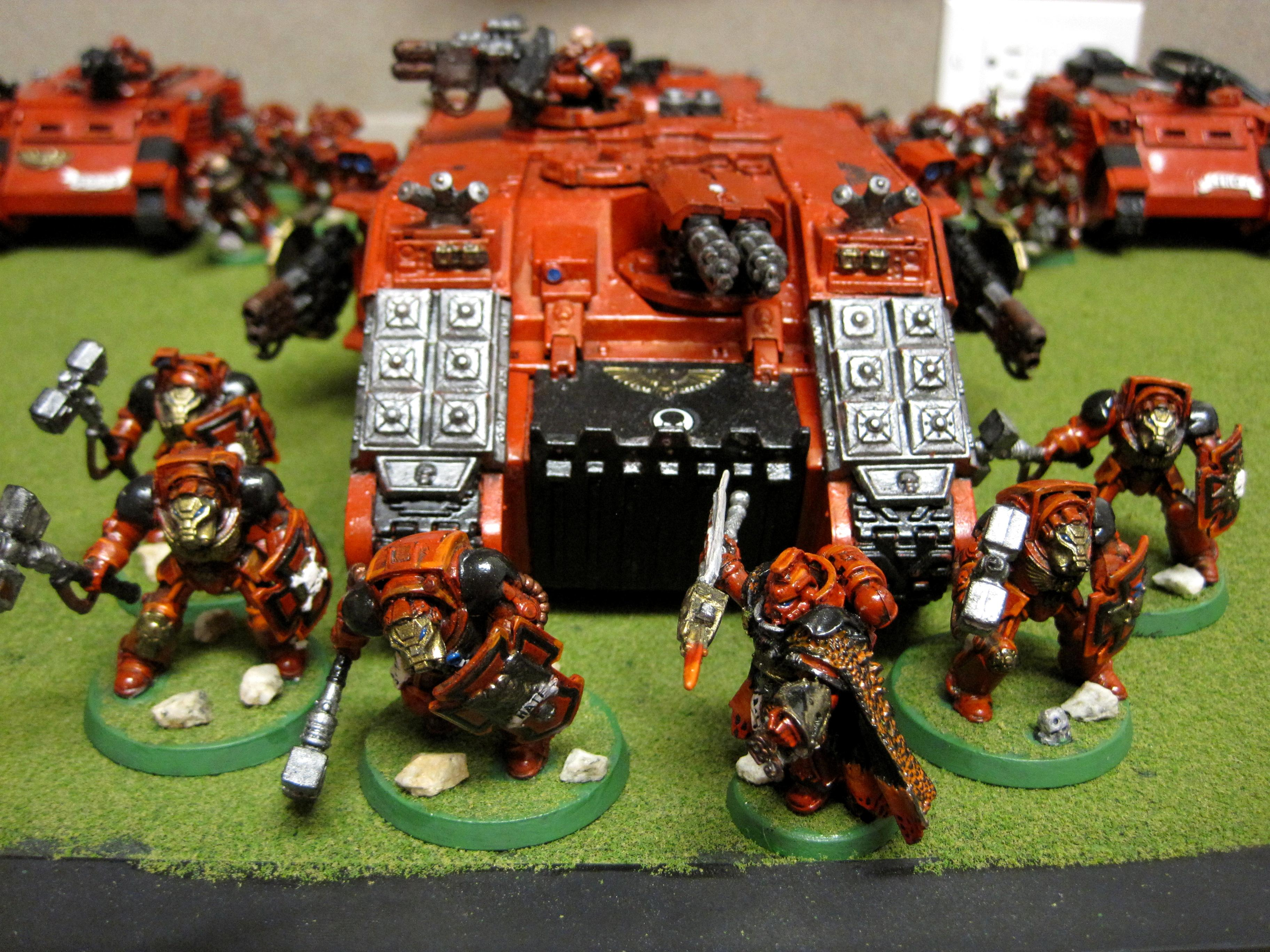 Home Brew, Land Raider, My Old Army, Self Made Chapter, Space Marines, Terminator Armor, Warhammer 40,000