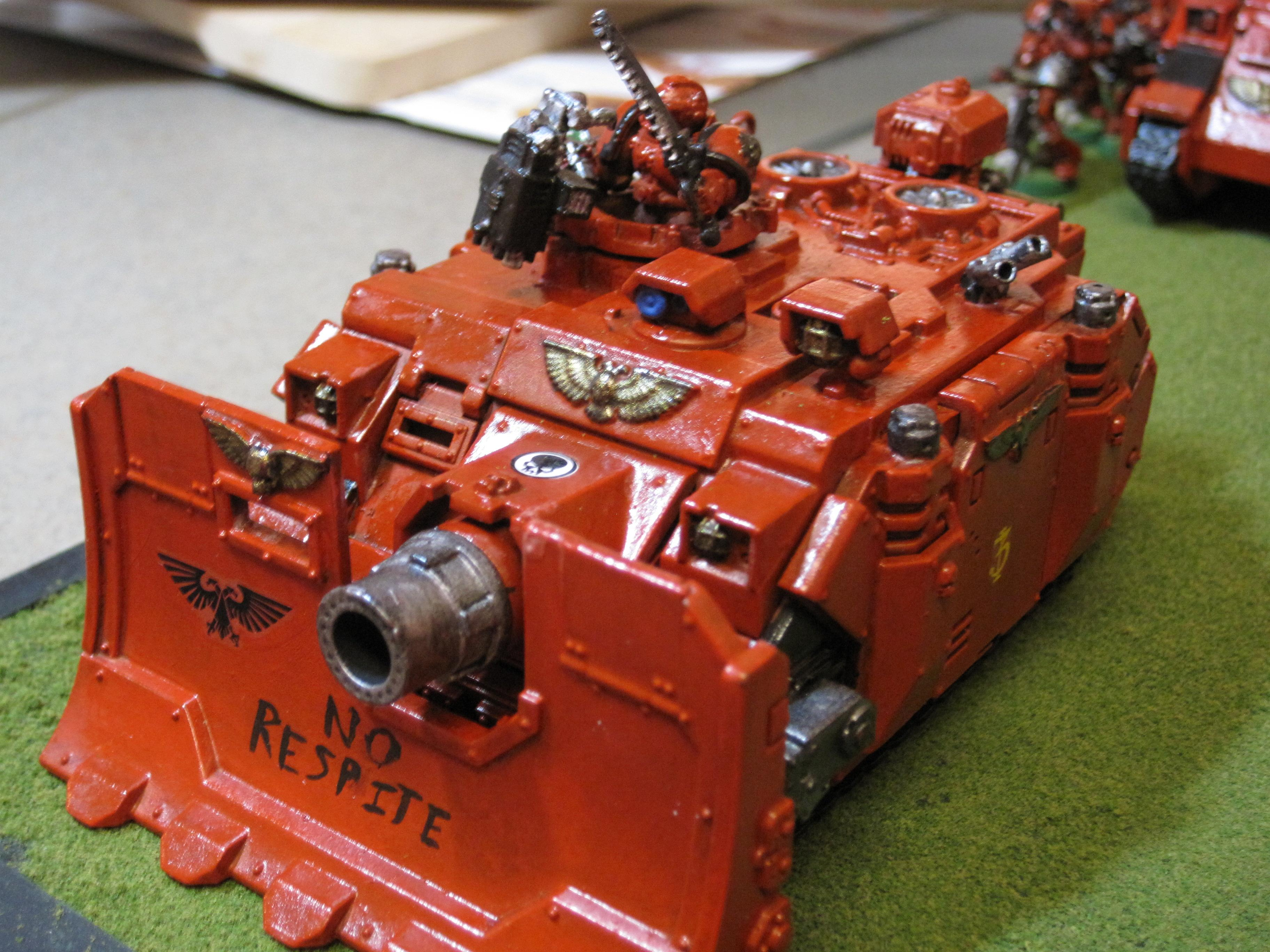 Home Brew, My Old Army, Self Made Chapter, Space Marines, Tank, Vindicator, Warhammer 40,000