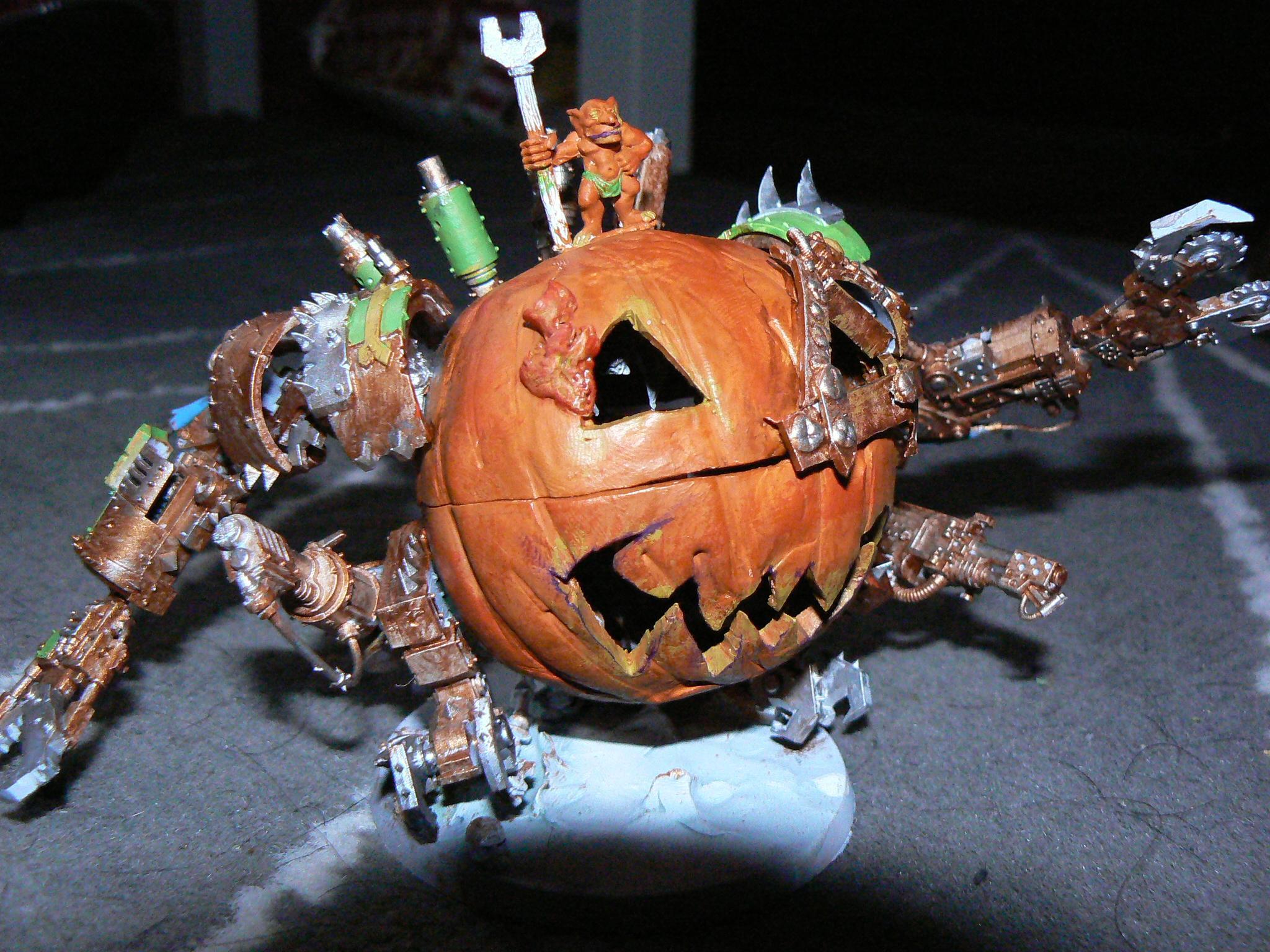 Deff Dread, Halloween, Humor, Orks