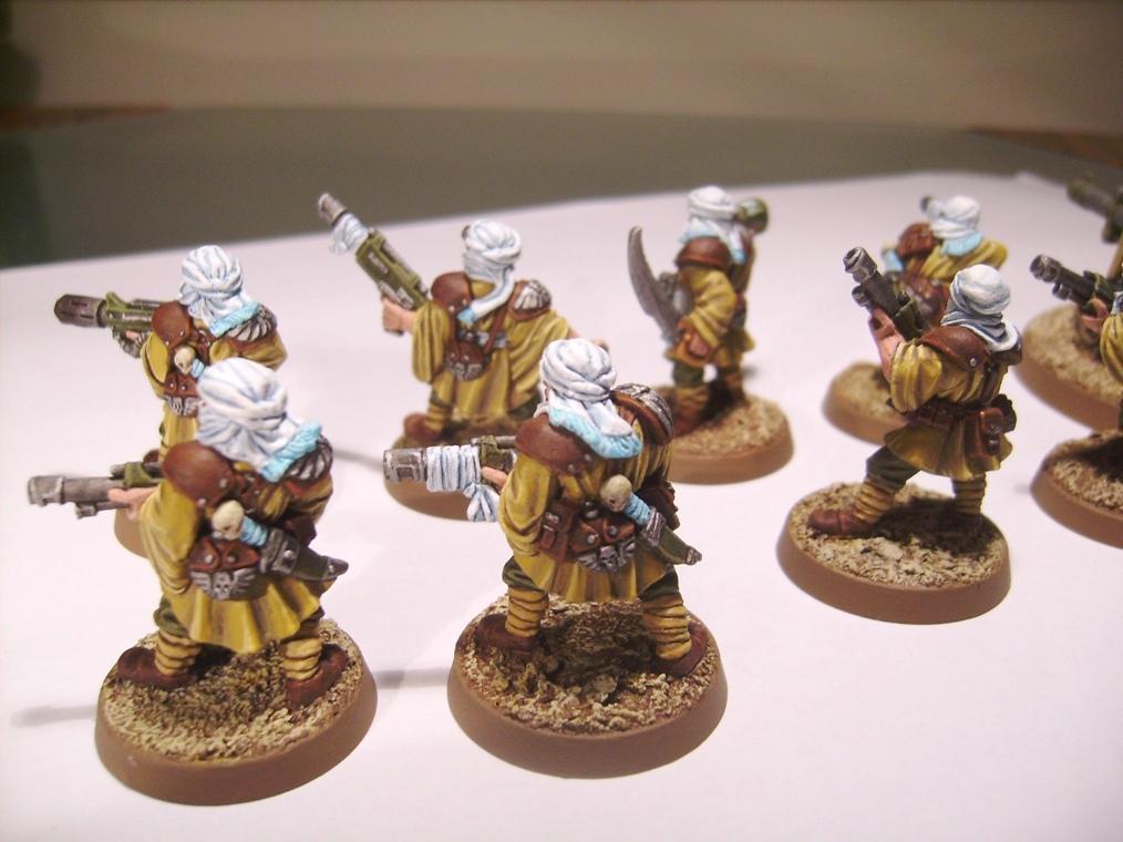 Desert, Imperial Guard, Infantry, Tallarn Desert Raiders, Tallarns, Warhammer 40,000
